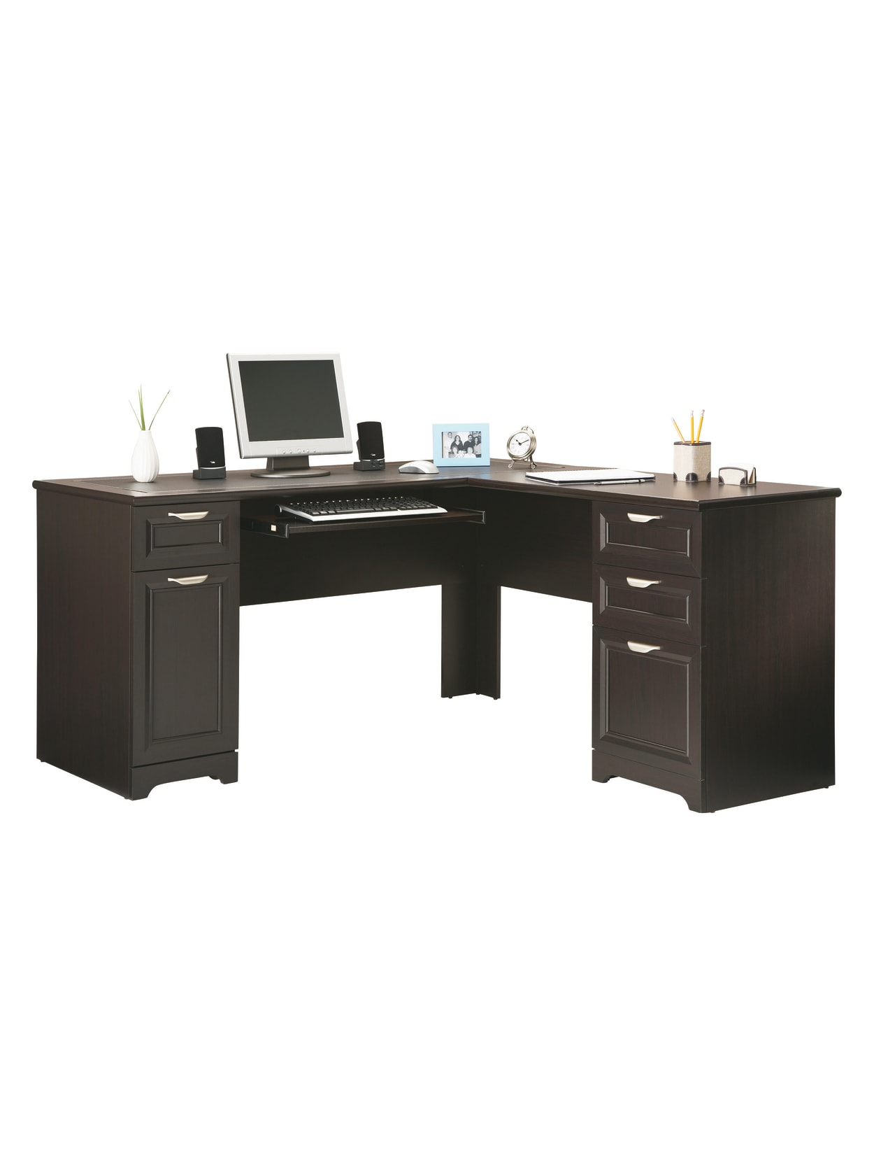 Reale Magellan 59 W L Shaped Desk
