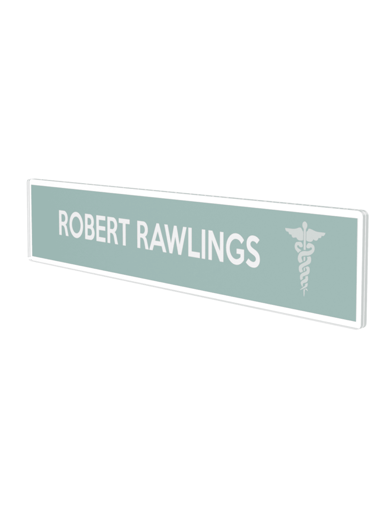 Deflecto Cubicle Nameplate Sign Holder