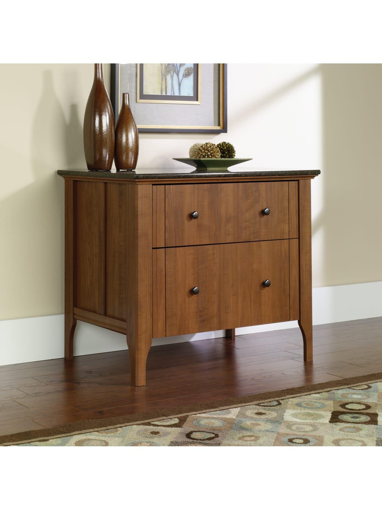 Sauder Appleton 34 34 W Lateral 34 Drawer File Cabinet Sand Pear