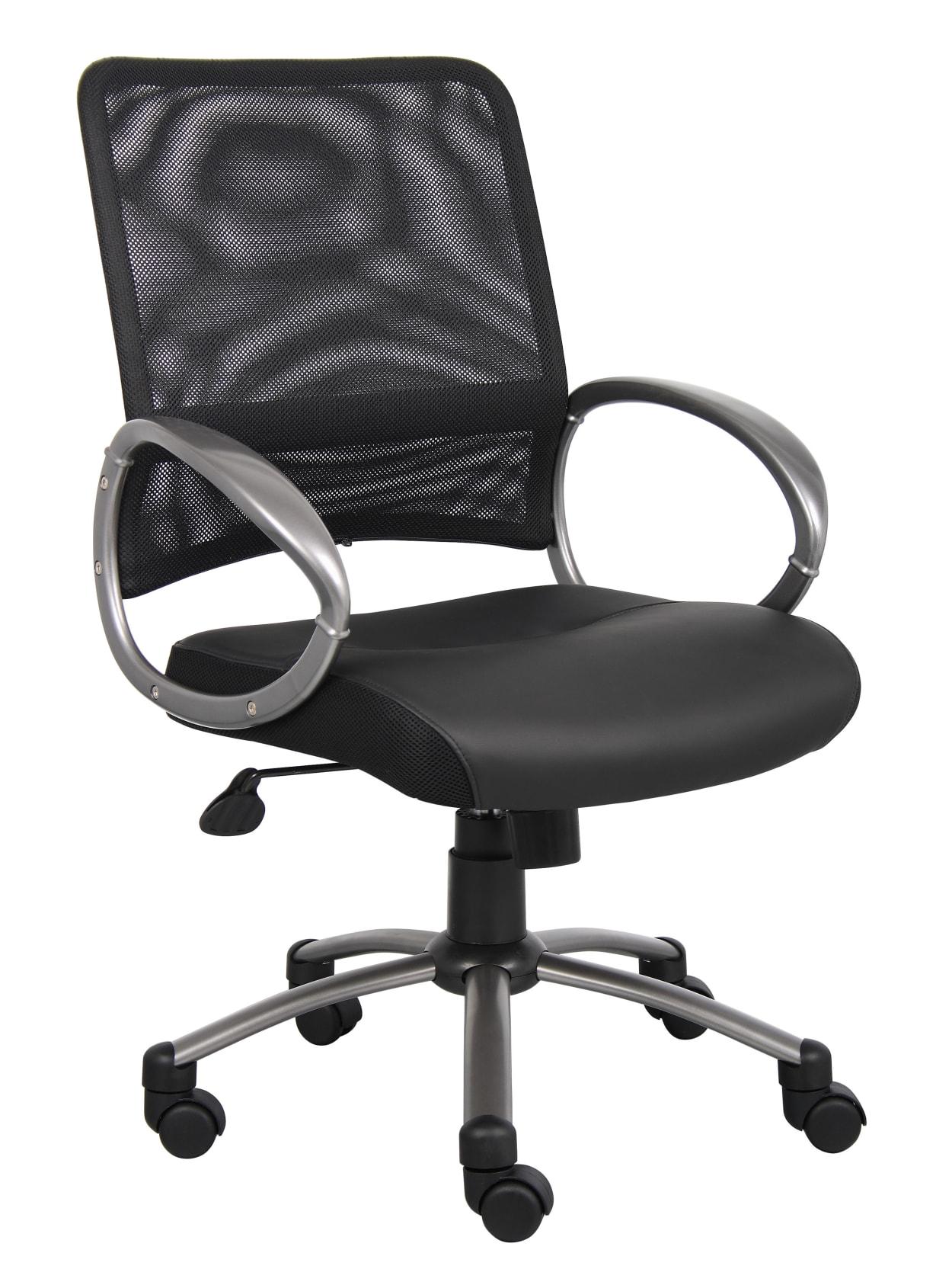 Mesh Task Chair In Black Office Depot
