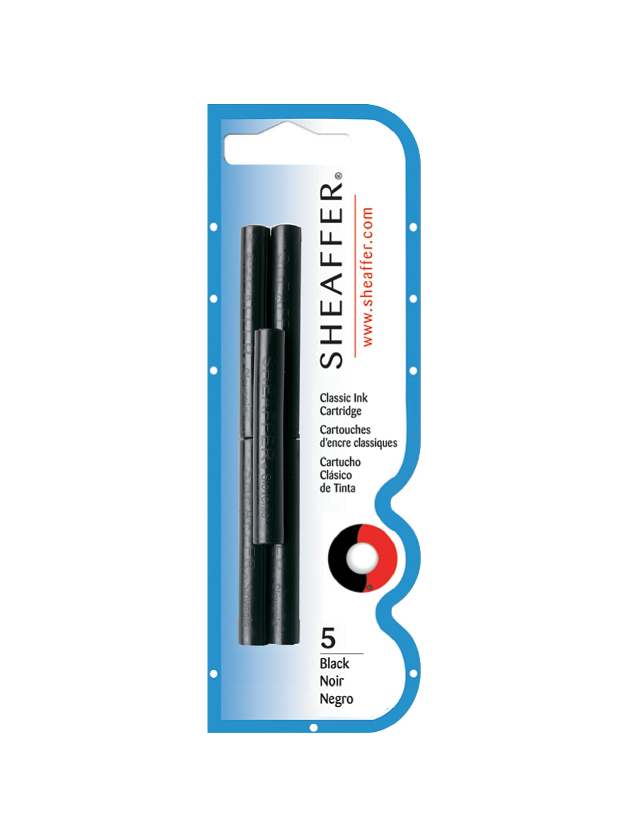 12 sheaffer fountain pens /& 12 black cartridges