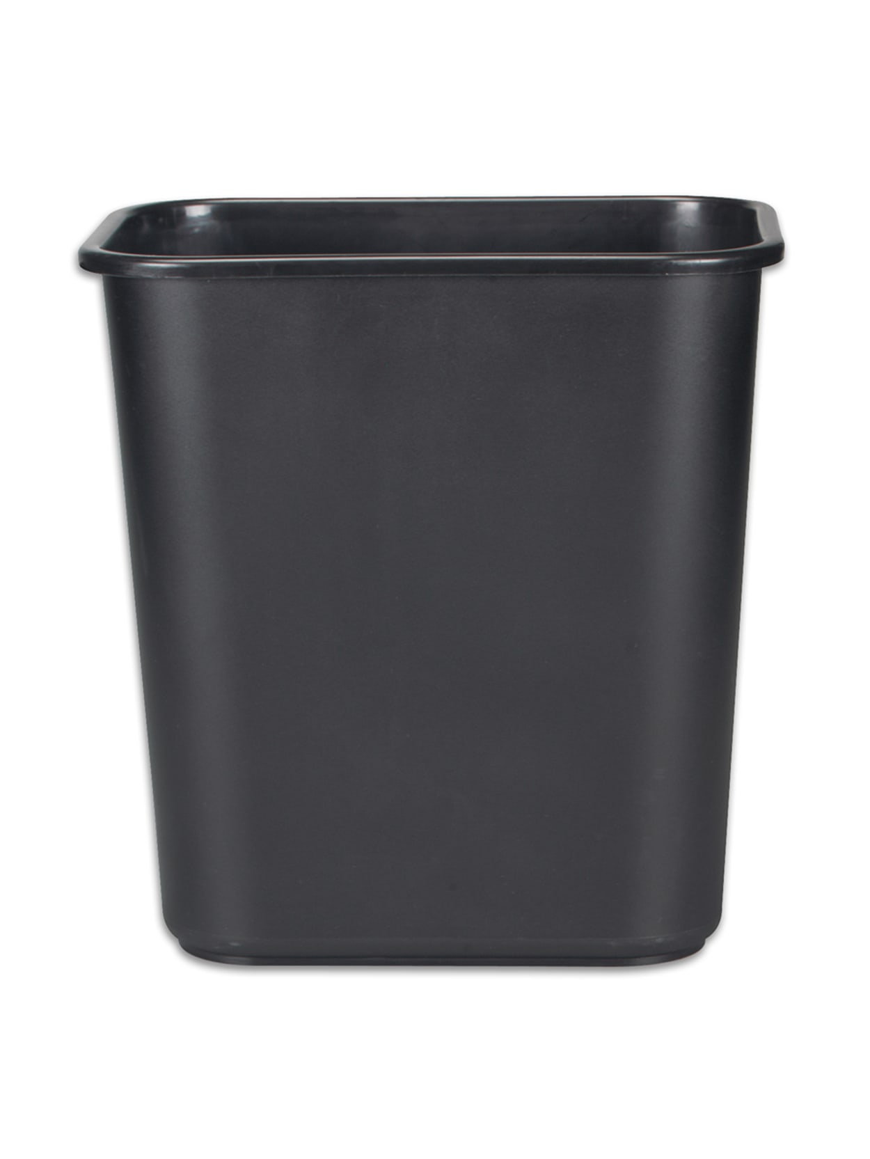 Rubbermaid Durable Polyethylene Wastebasket 7 Gallons Black Office Depot