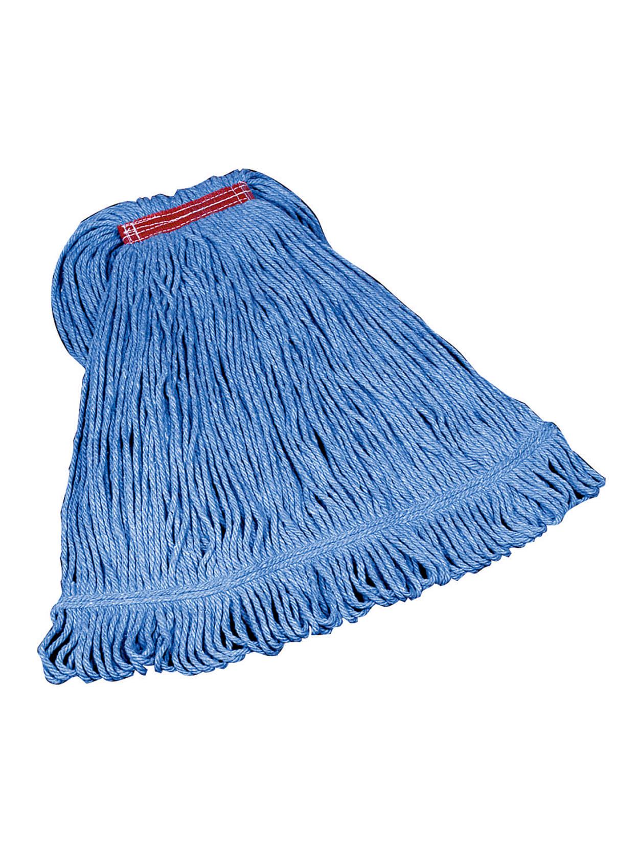Rubbermaid Super Stitch Blend Mop Medium 1 Headband Blue Office Depot