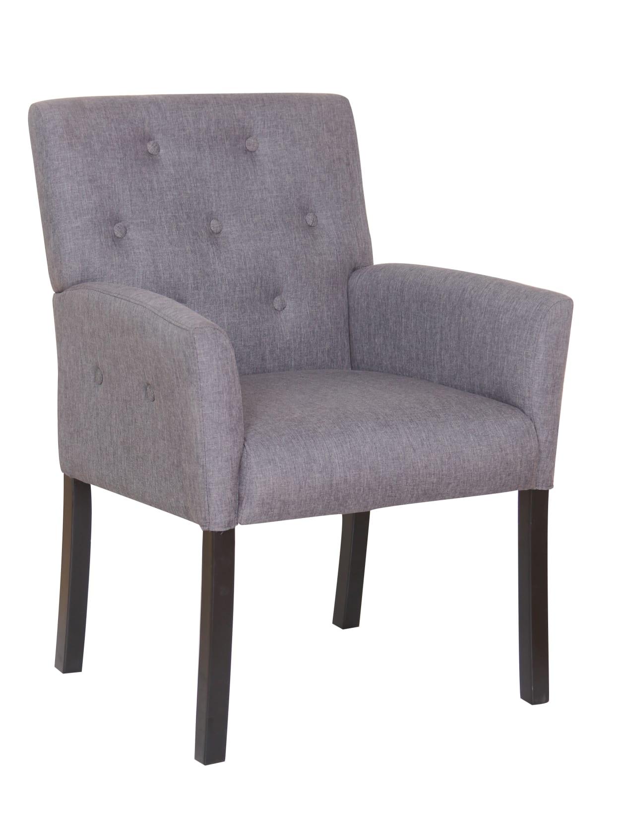 Boss Taylor Chair In Slate Grey Office Depot