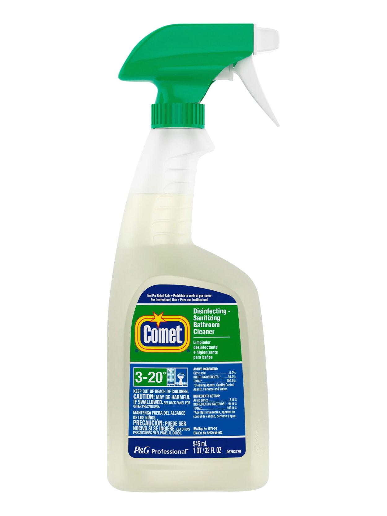 Comet Bathroom Cleaner 32 Oz Bottle Office Depot