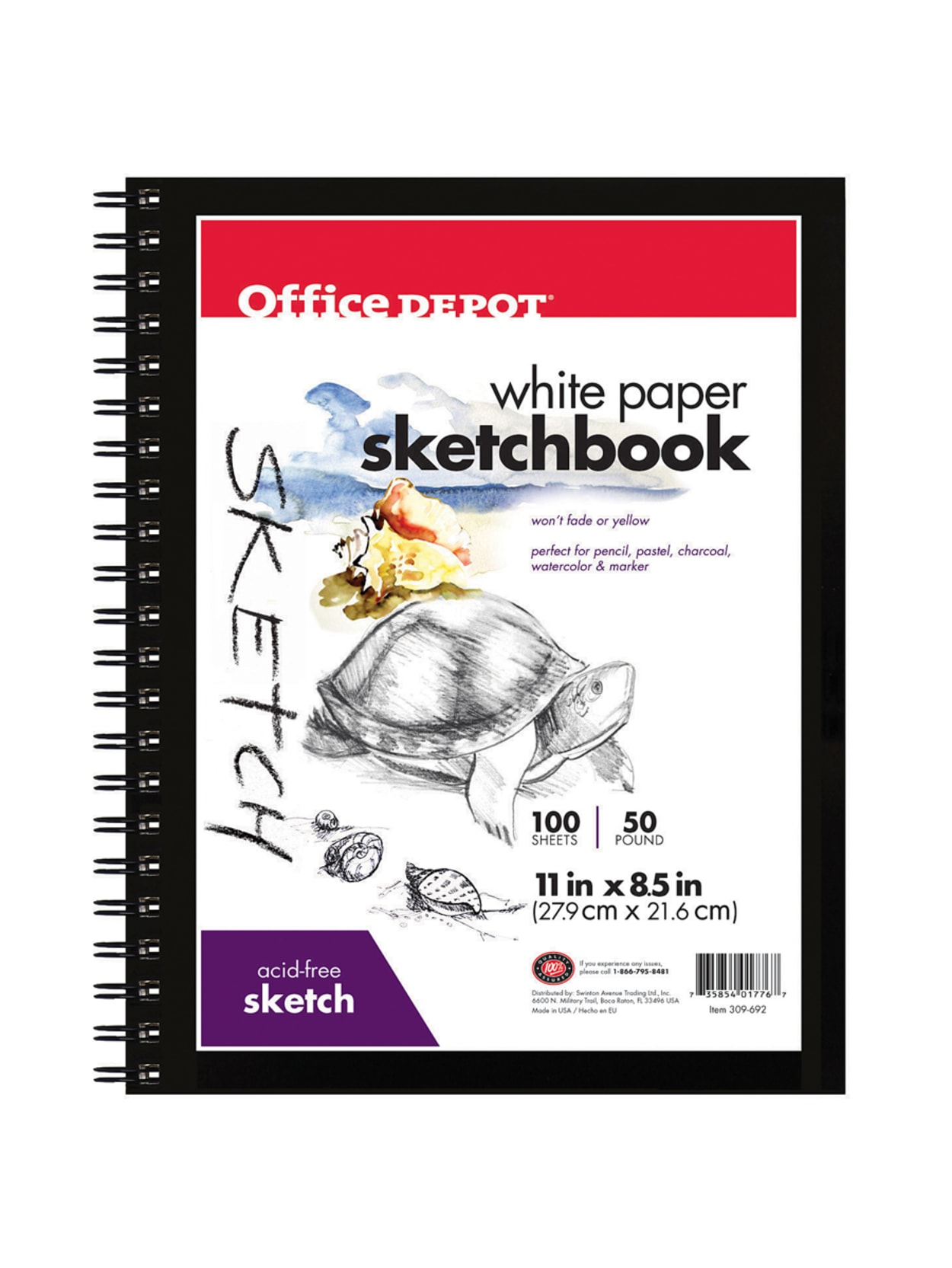Sketch book Paper Sketch Book Set For Watercolor School Pad 50 Sheets