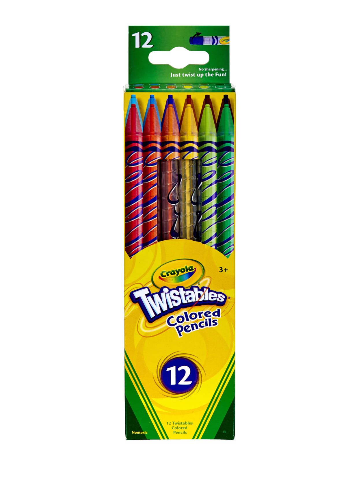 Crayola Twistables Color Pencils Assorted Colors Set Of 12 - Office Depot