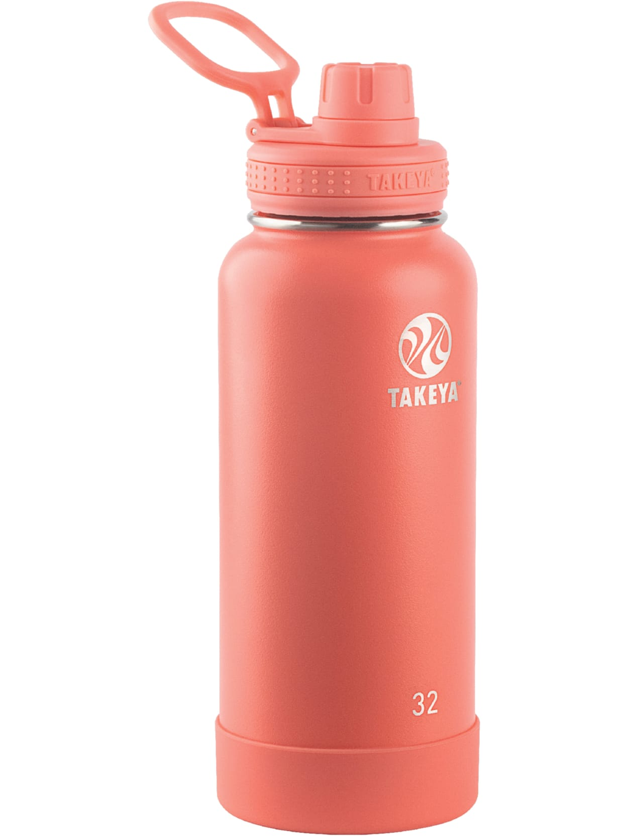 Reusable Water Bottle 32 Oz Coral Office Depot