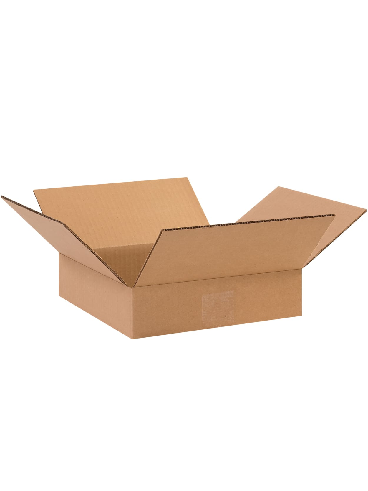 14 x 6 x 2 Flat Corrugated Boxes 25//Bundle Kraft