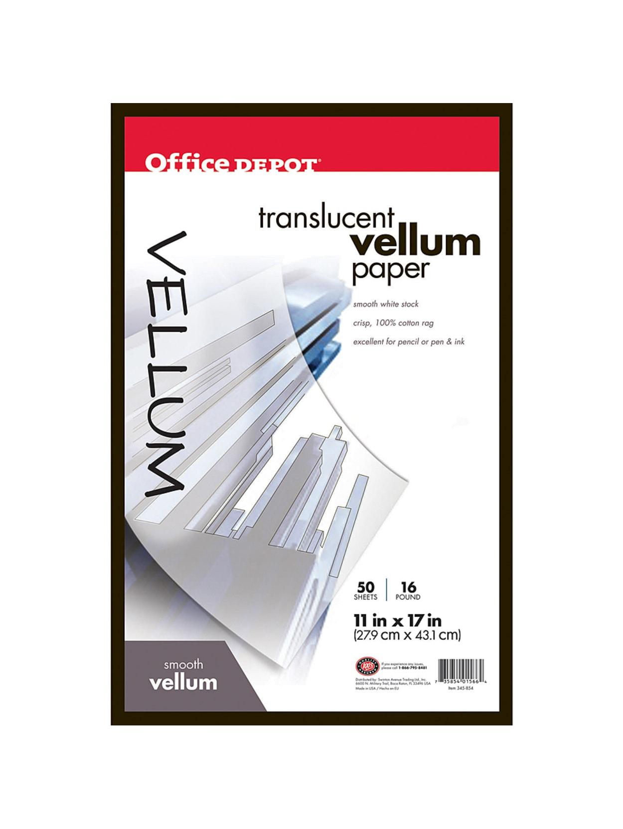 Rag Vellum Paper