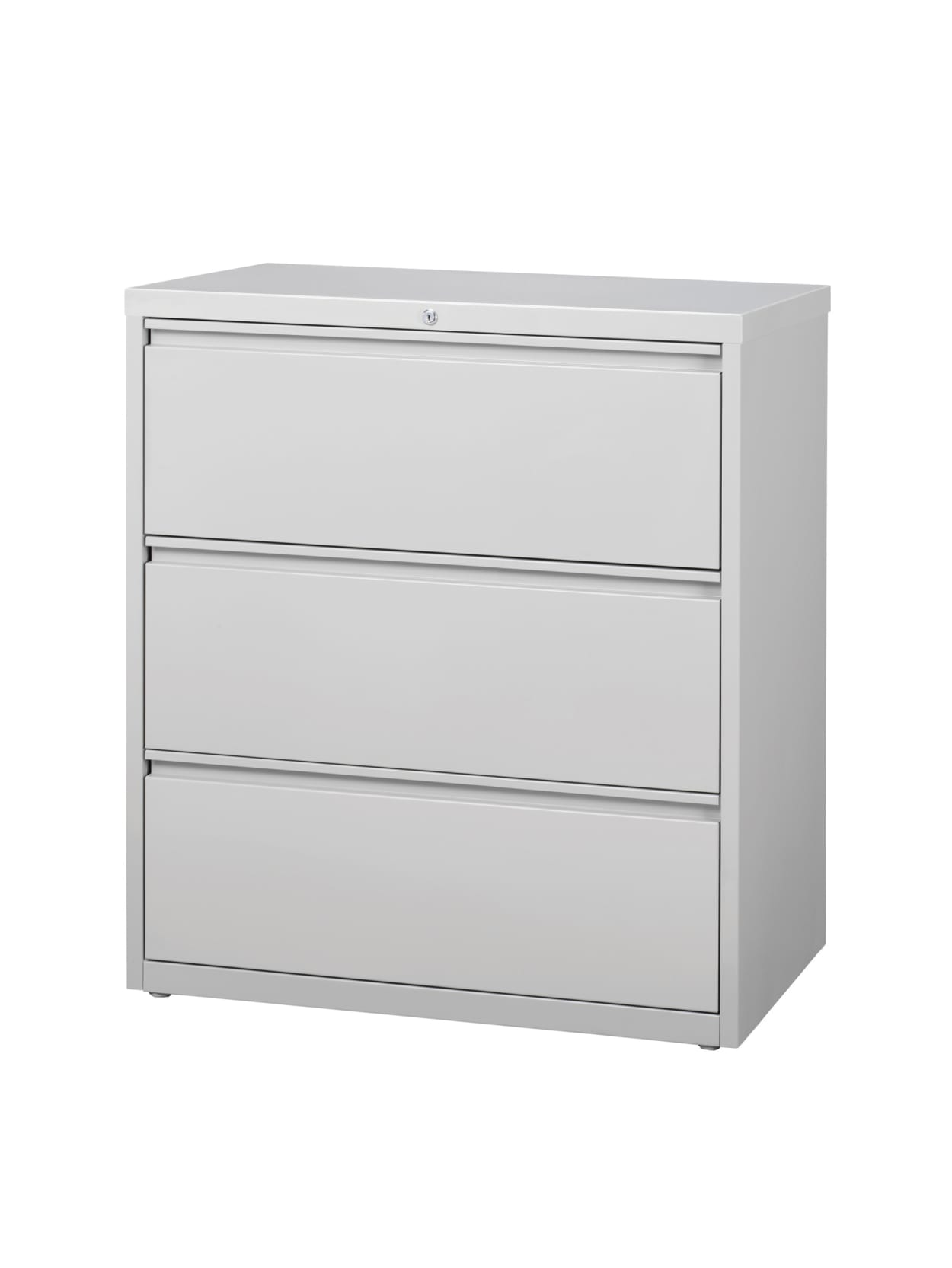 "WorkPro® 344""W Lateral 34-Drawer File Cabinet, Metal, Light Gray Item # 34494434"