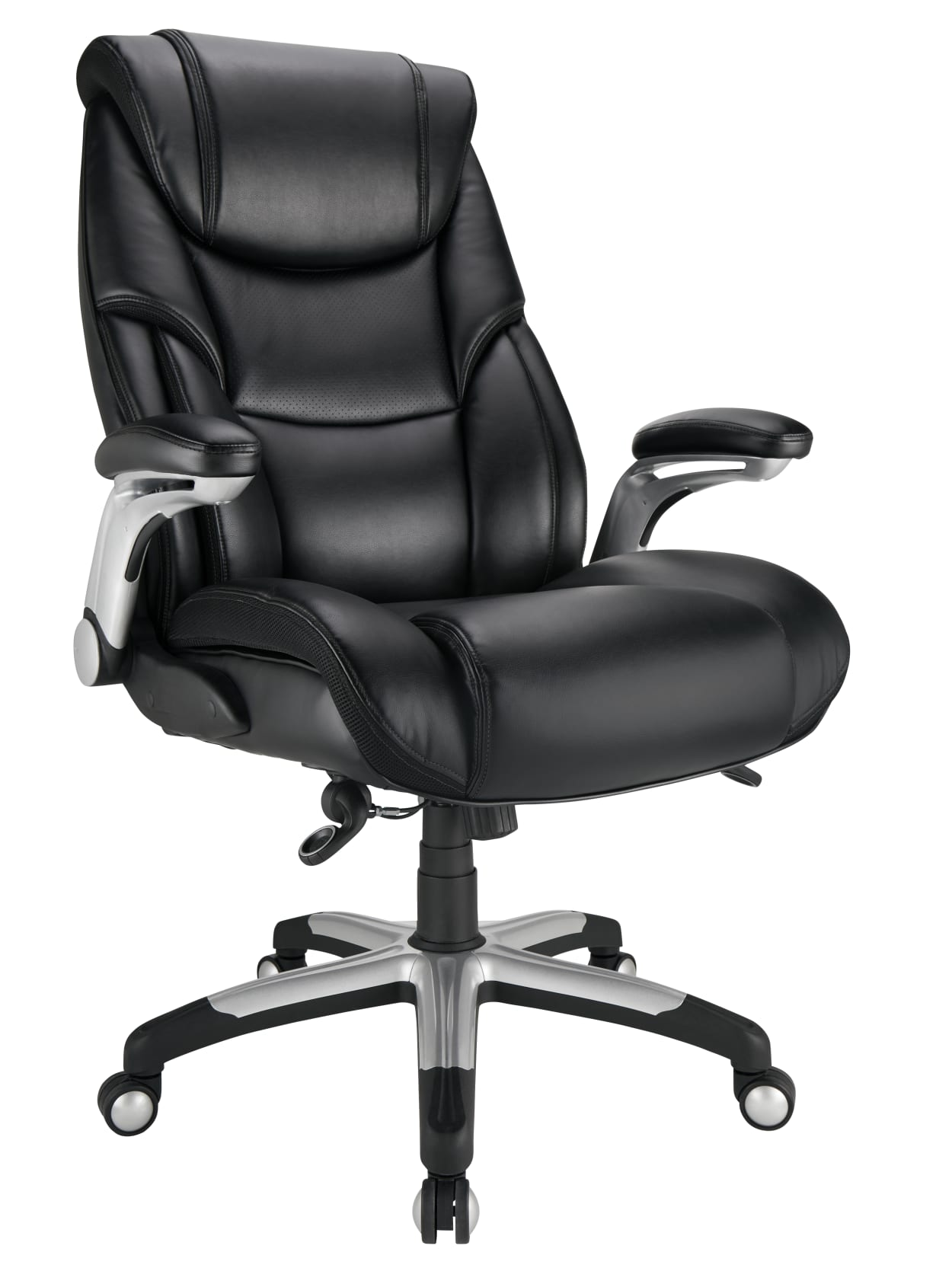 Realspace Torval Bigtall Sporty Chair Black Office Depot