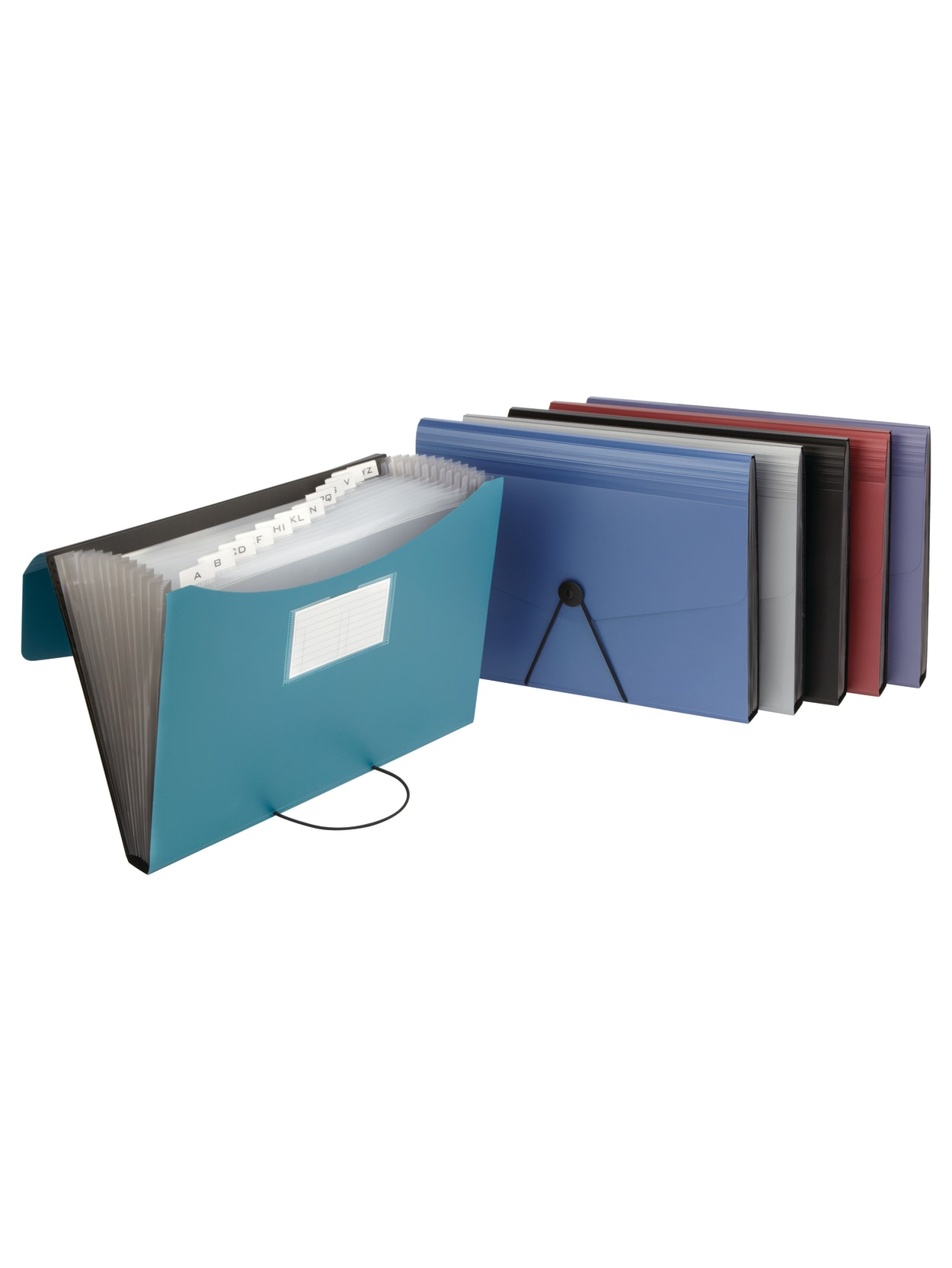 Office Depot® Brand Poly 40-Pocket File, Letter Size, Assorted Colors (No  Color Choice) Item # 40