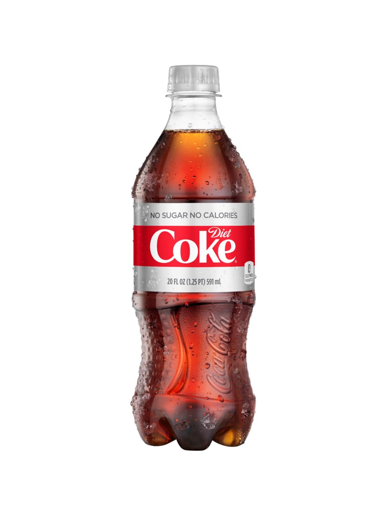 is diet coke sticky?