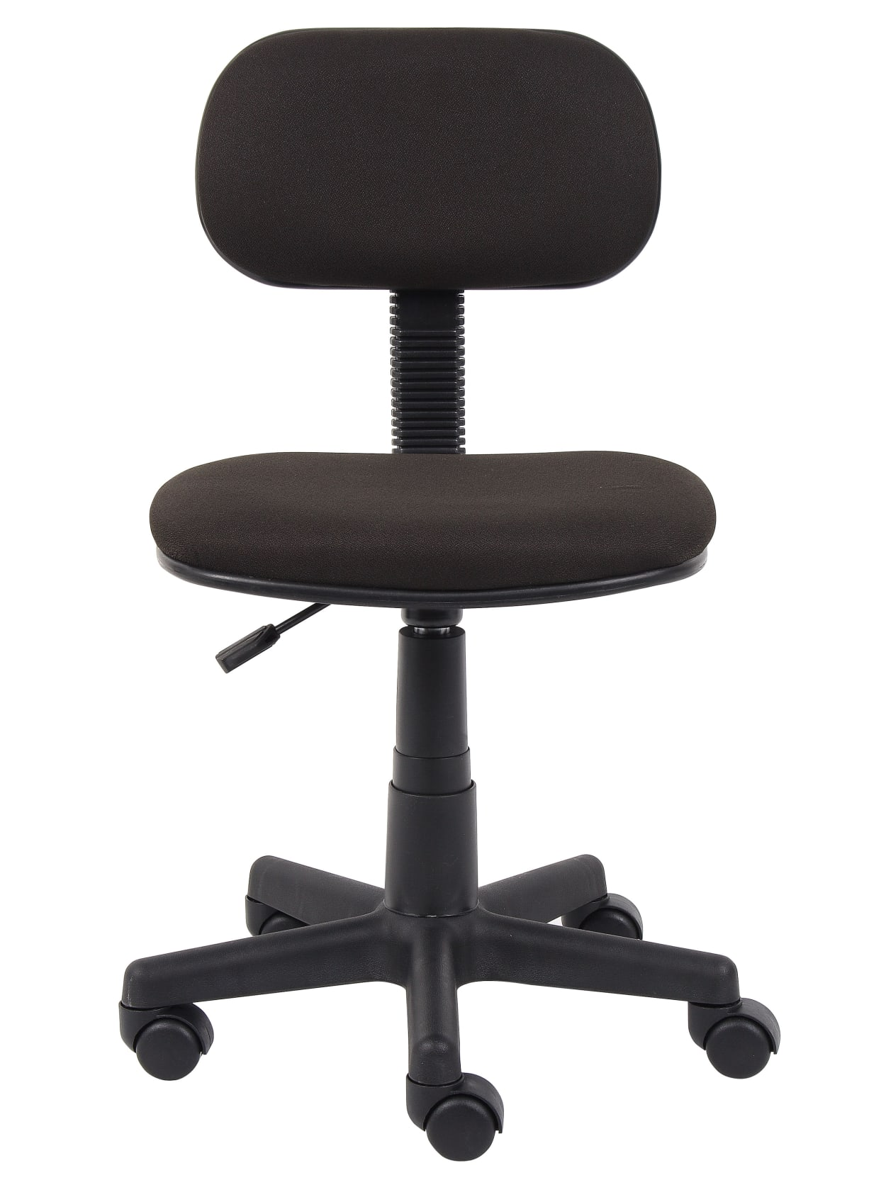 Picture of: Boss Steno Low Back Task Chair Black Office Depot