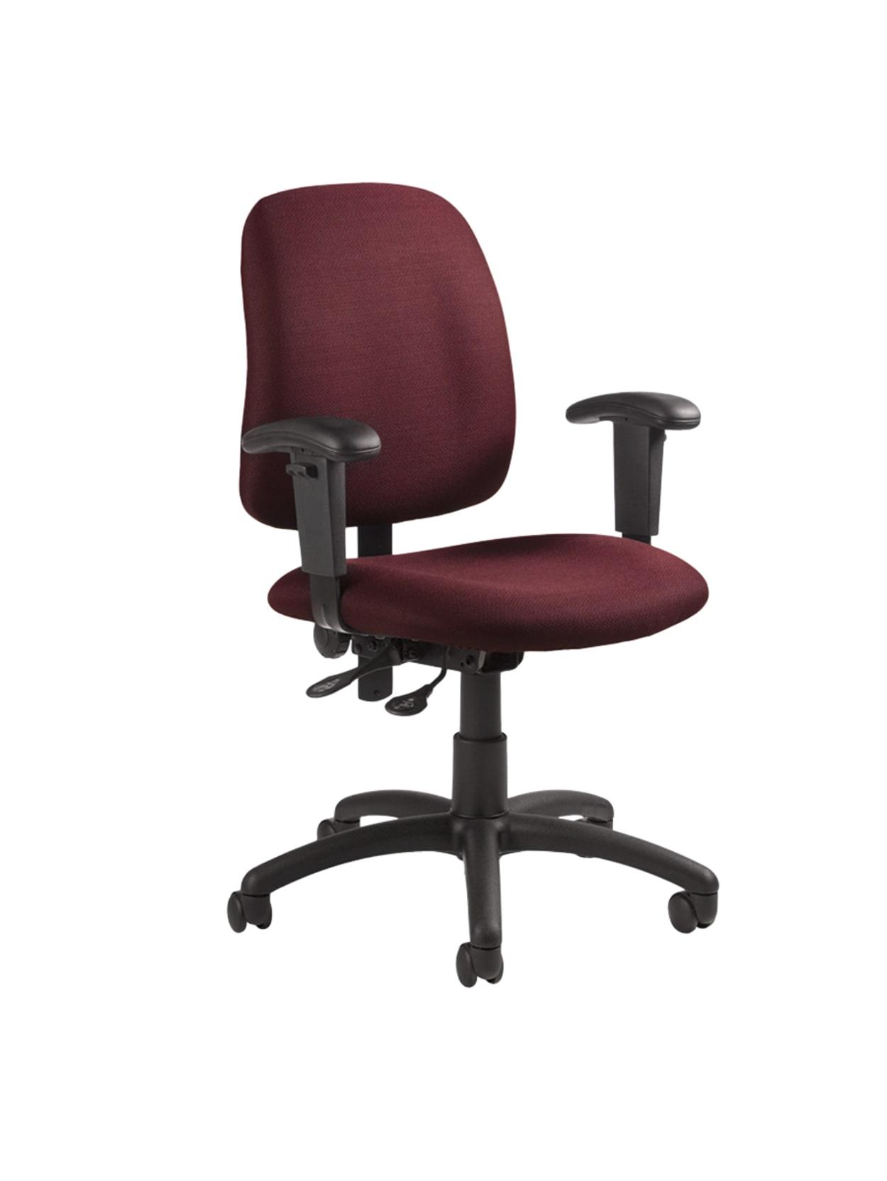 "Global® Goal™ Operator Series Task Chair, 48""H x 48""W x 48 48/48""D,  Rhapsody/Black Item # 48"