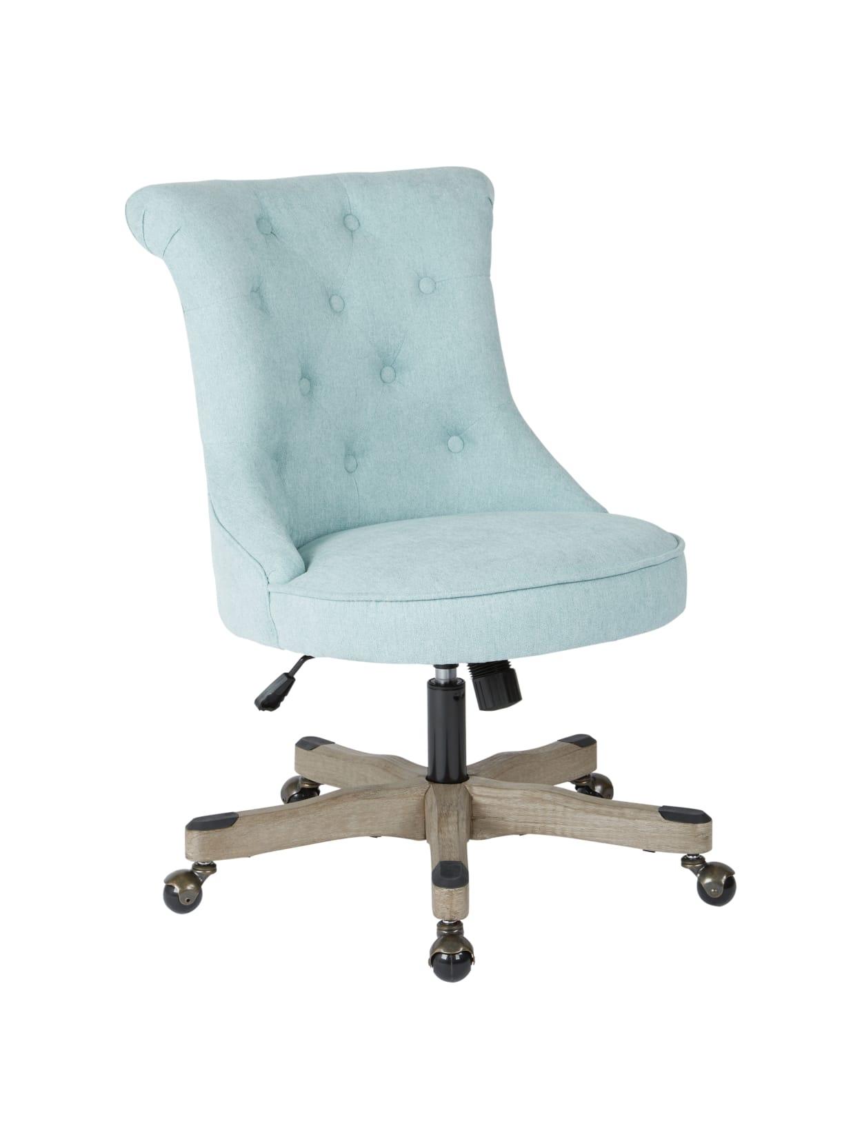 Office Star Hannah Tufted Office Chair MintGray - Office Depot