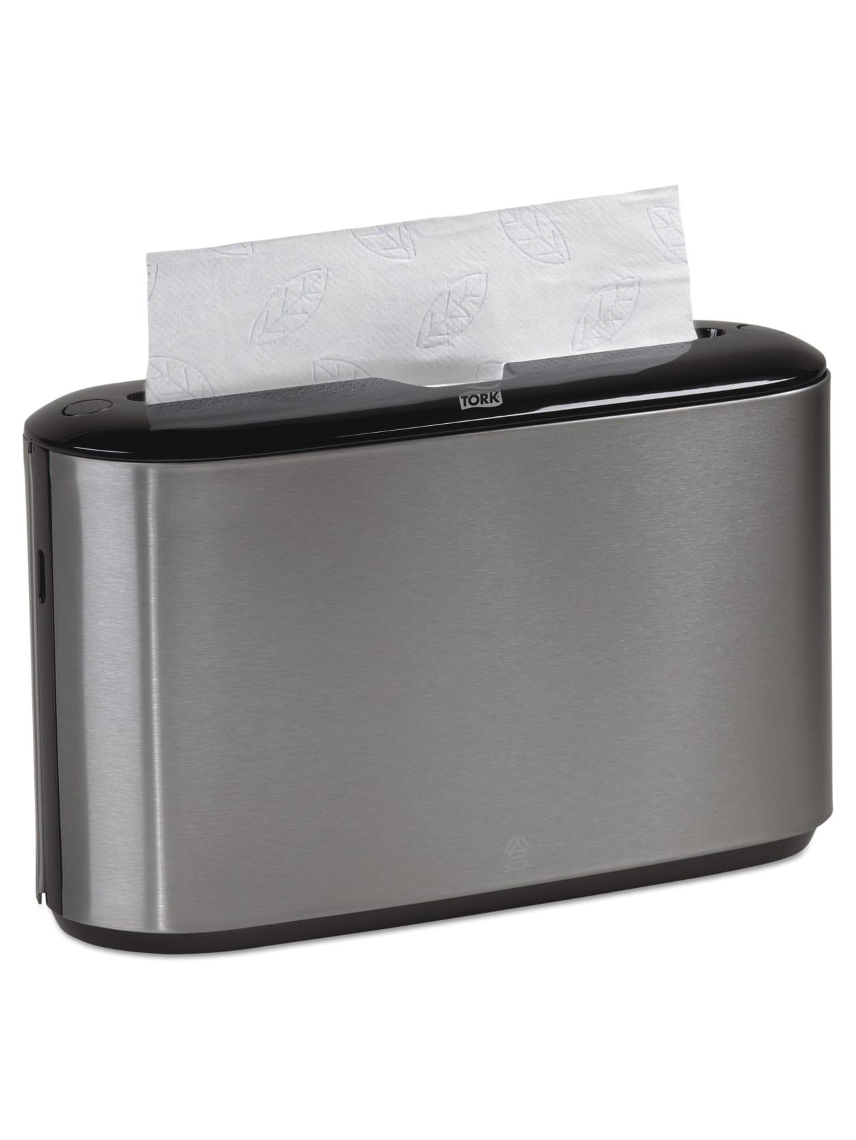 Picture of: Tork Xpress Countertop Towel Dispenser Blackstainless Steel Office Depot