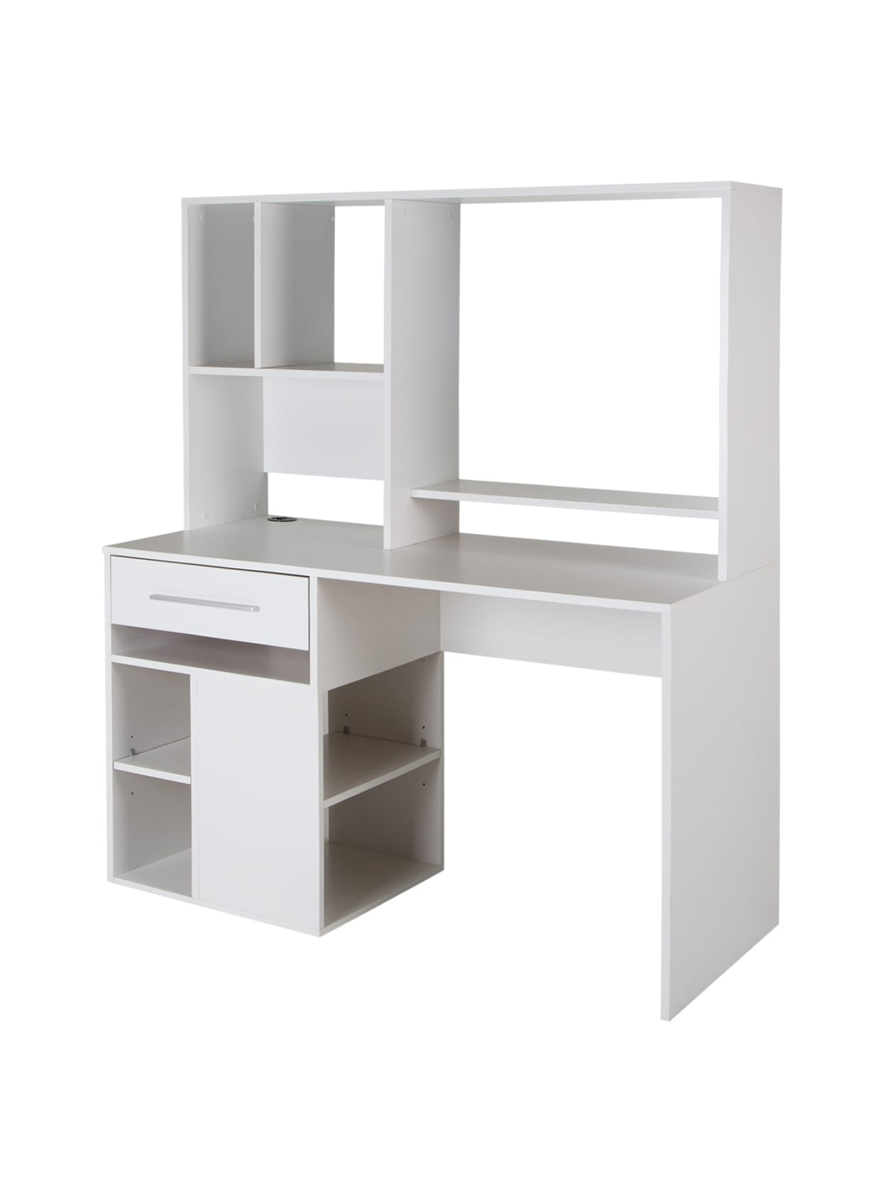 - South Shore Annexe Computer Desk With Hutch Pure White - Office Depot