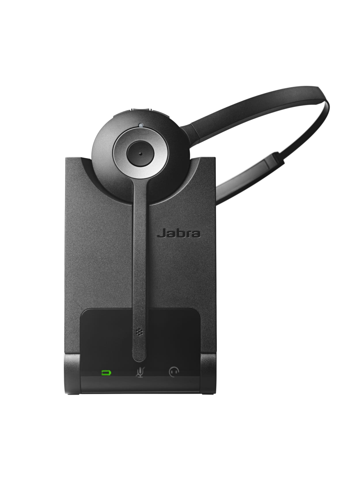 Jabra Pro 920 Mono Headset Mono Wireless Dect 120 Ft Over The Head Over The Ear Behind The Neck Monaural Supra Aural Noise Cancelling Noise Reduction Microphone Office Depot