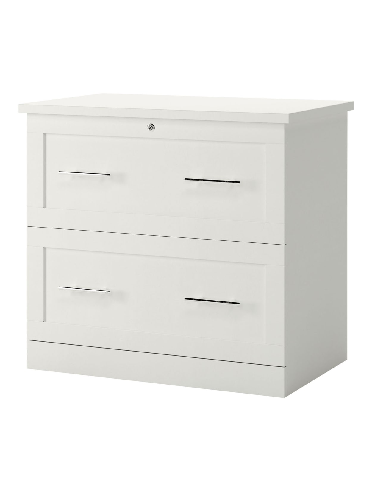 Image of: Realspace 2 Drawer 30 W File White Office Depot