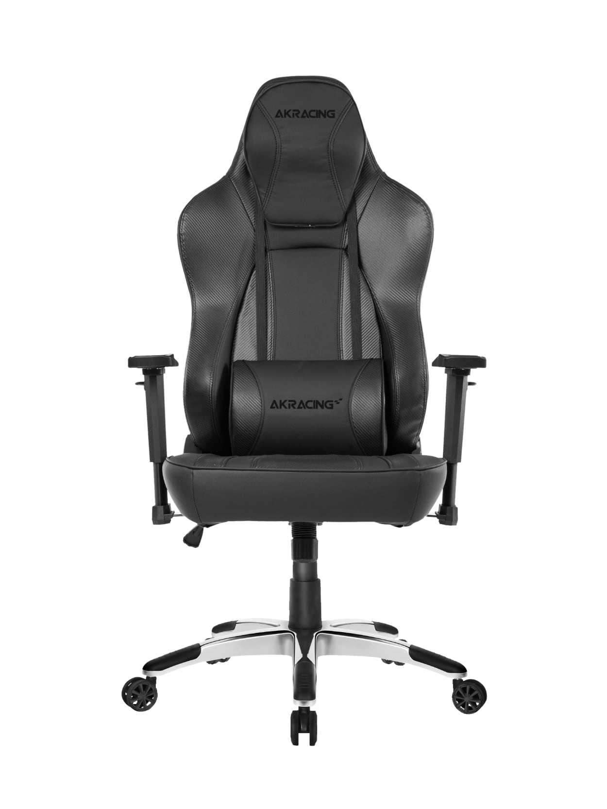 AKRacing Office Obsidian Ergonomic Computer Chair Carbon Black
