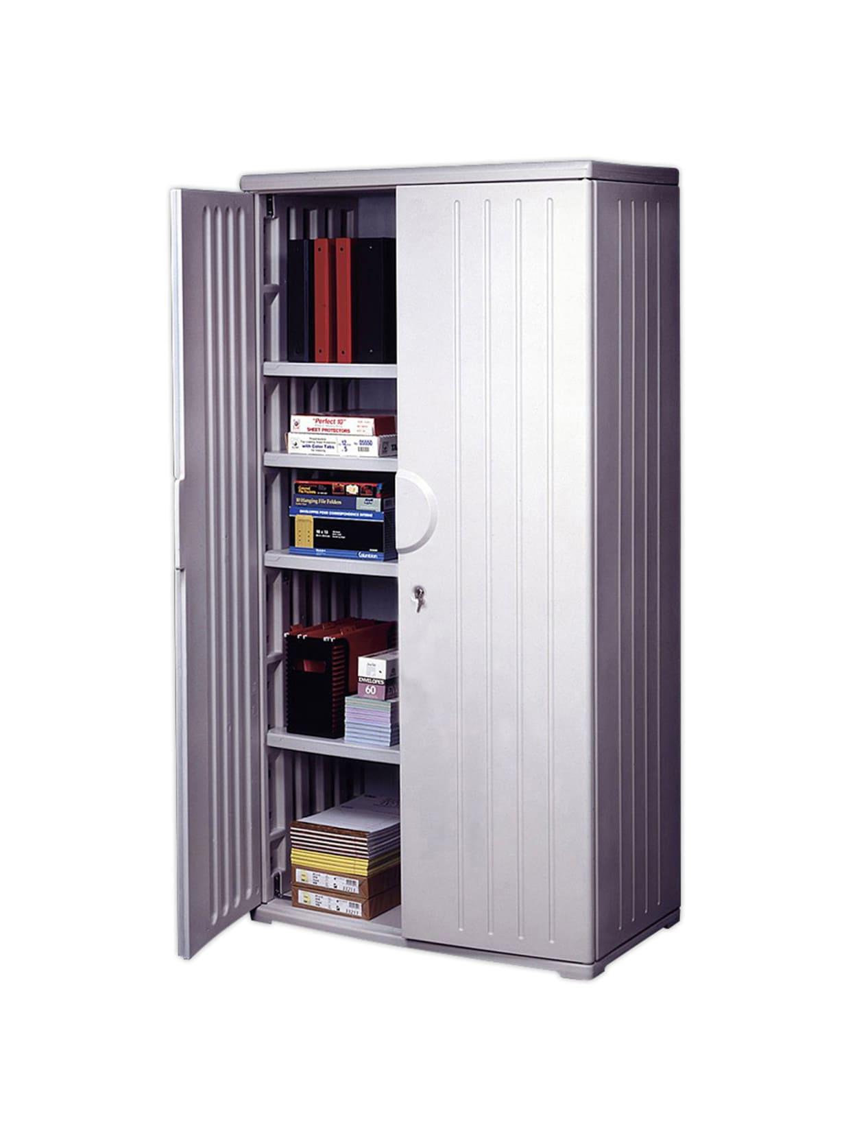 Iceberg Officeworks Storage Cabinet 72 H X 36 W Platinum Office Depot
