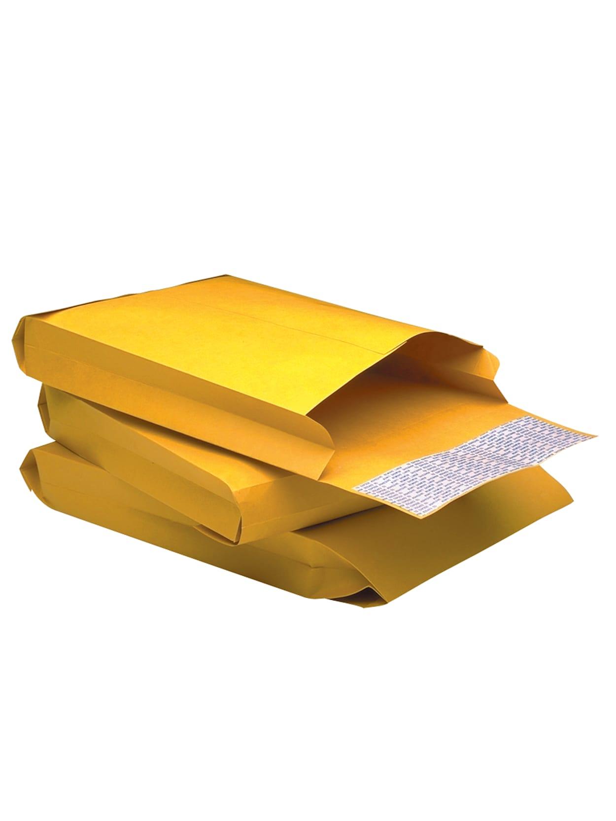 Brown Kraft Ungummed Quality Park,Jumbo Kraft Envelopes 4 X Box of 25