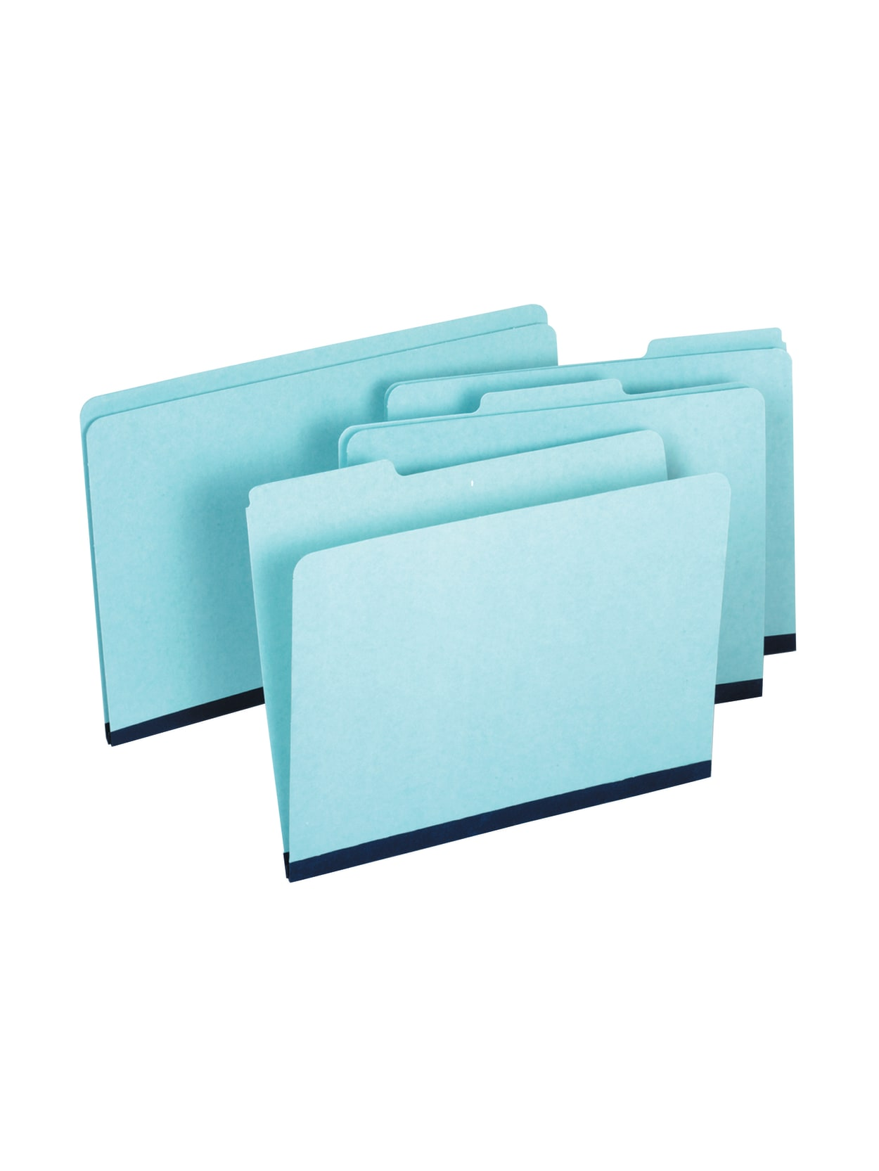 Office Depot Brand Expanding Pressboard Folders with Fasteners Letter Size 1 Expansion Box of 25 Green