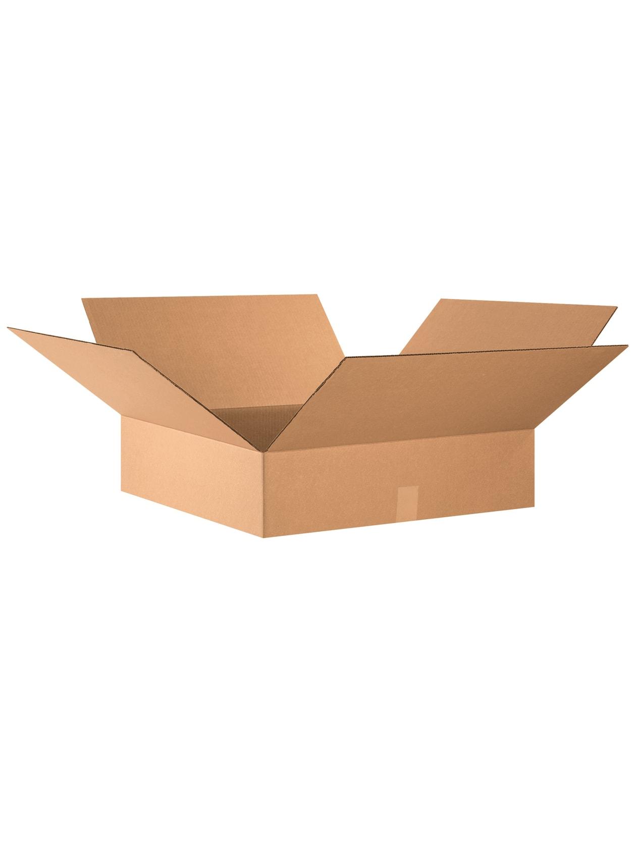 20 Pieces Kraft Shipping Carton 24 Inside L