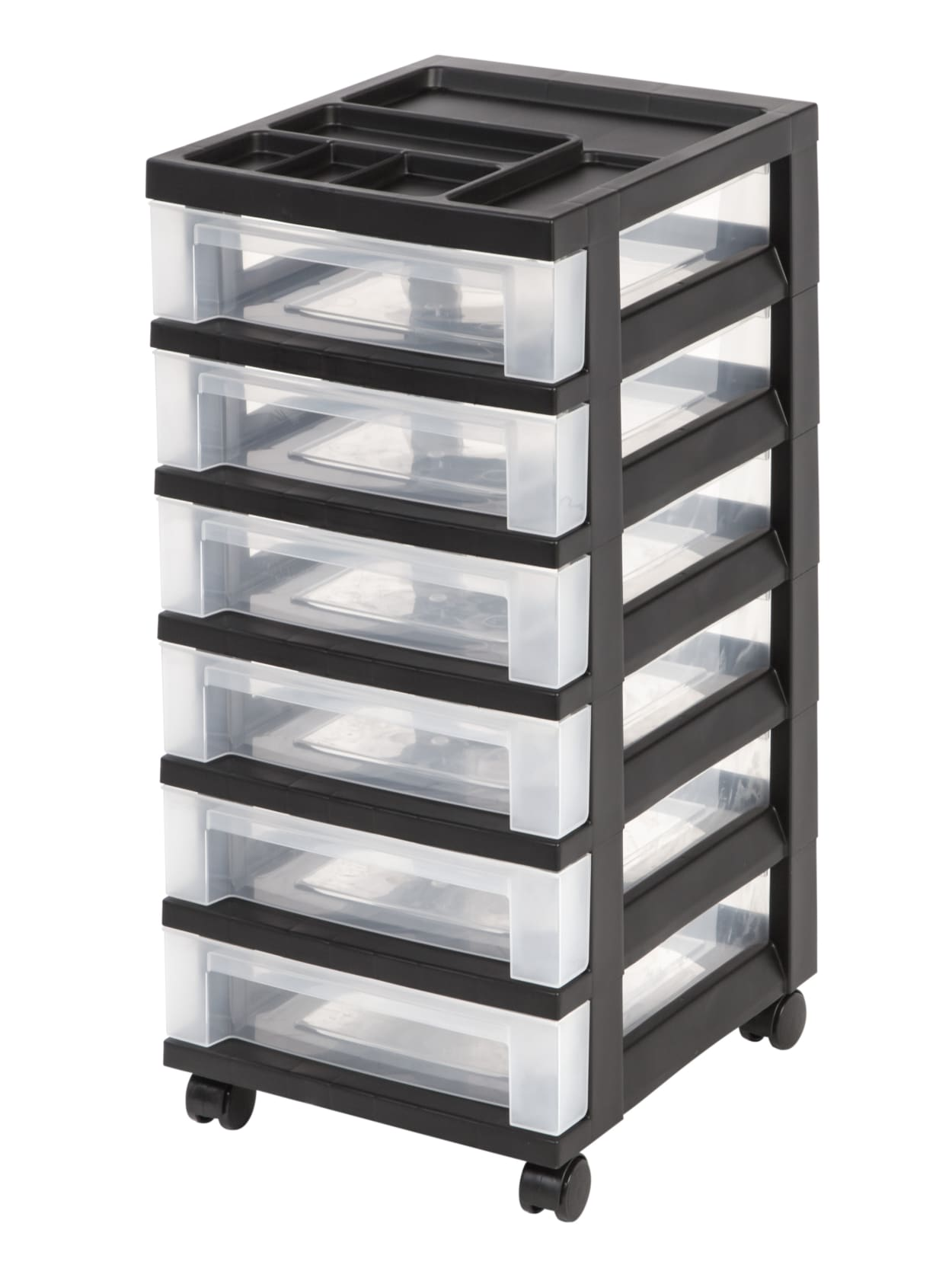 Office Depot Brand Plastic Storage Cart 40 Drawers 240 7140 H x 40