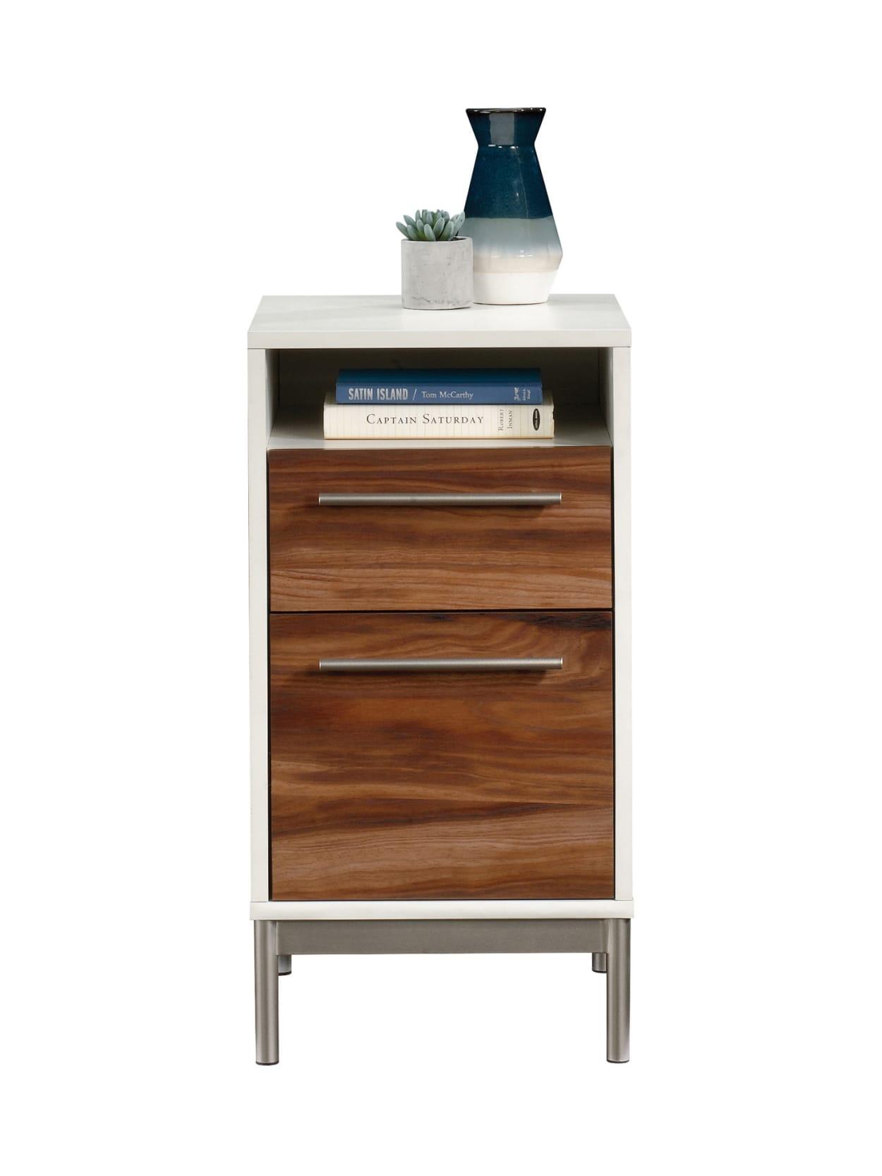Sauder Vista Key Vertical File OakAcacia - Office Depot