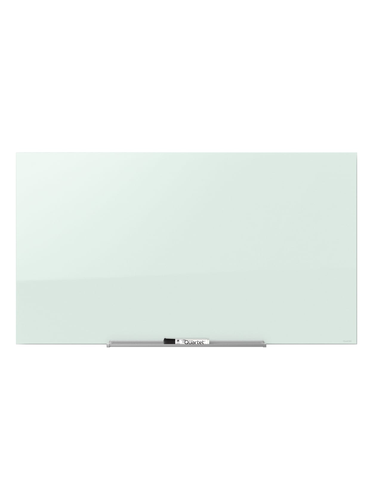 Quartet Invisamount Magnetic Unframed Dry Erase Whiteboard 39 X 22 White Office Depot