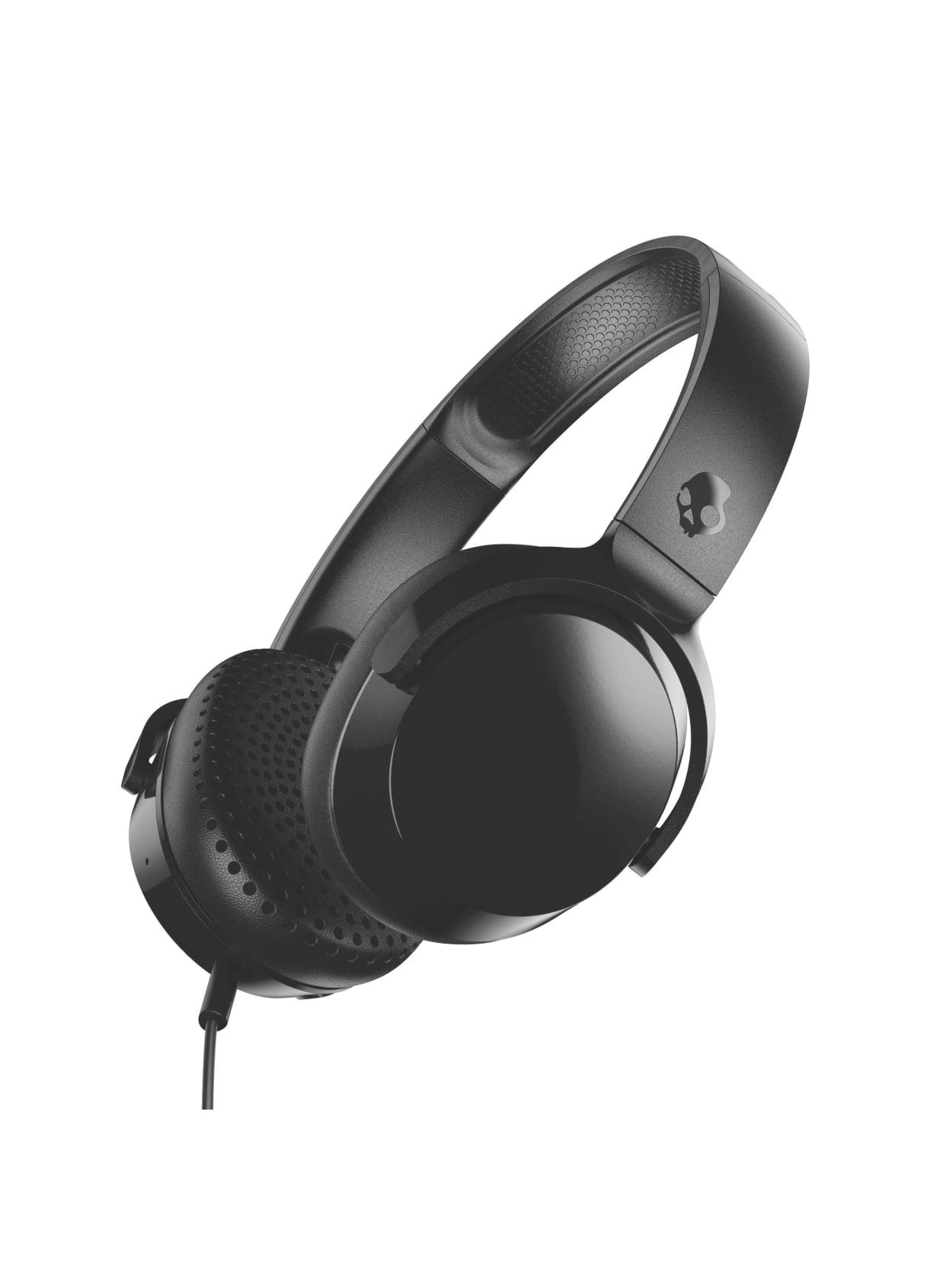 Punto muerto heredar tarde  Skullcandy Riff Headphones Black S5PXY L003 - Office Depot