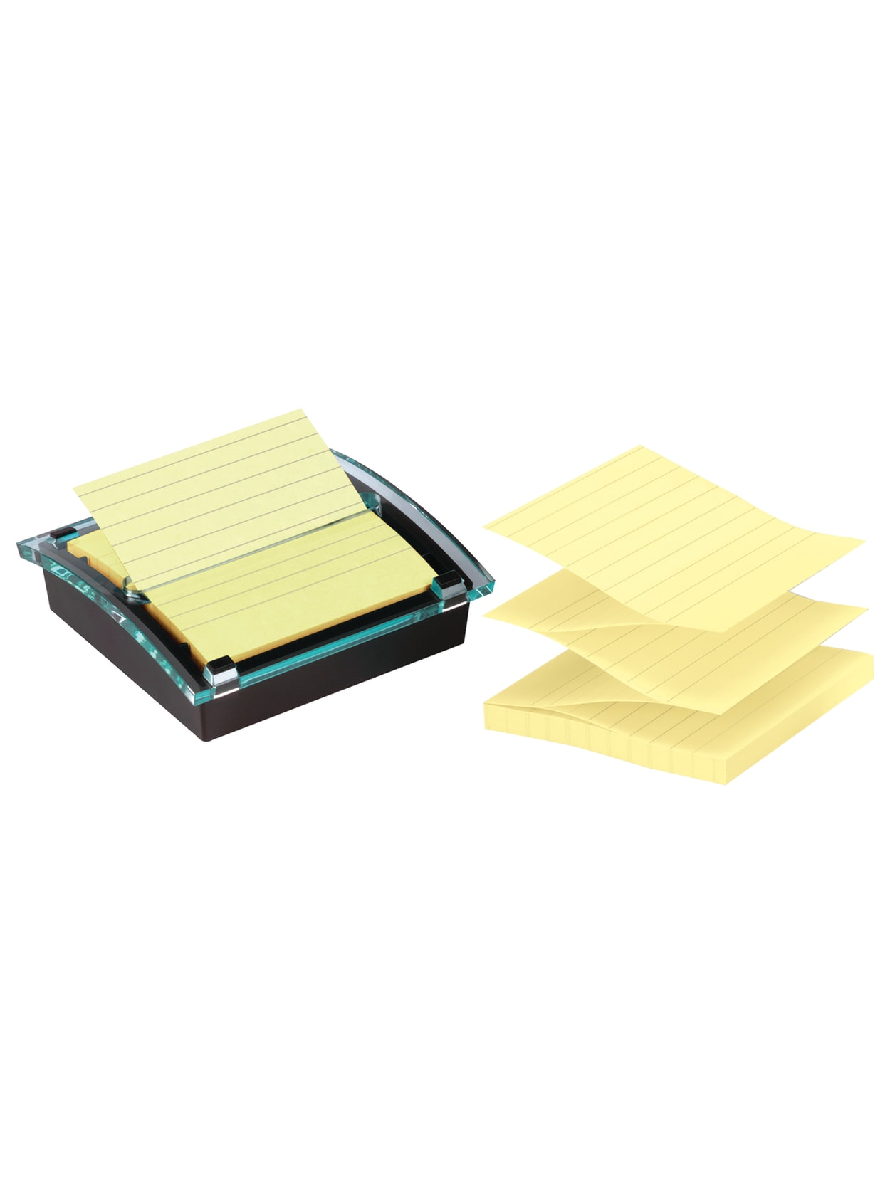 Work with 4A Sticky Pop-up Notes Black for 100 Sheets 3x3 Notes 4A PSS 7 4A Pop-up Note Dispenser 1 Dispenser//Pack