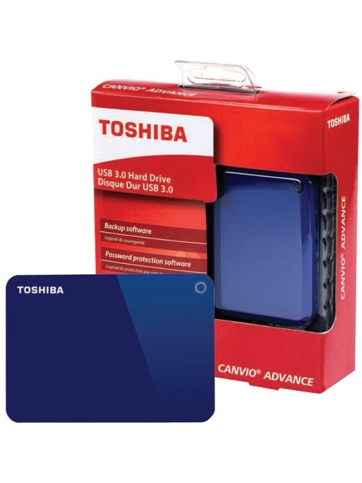 Toshiba Canvio Advance 1TB Portable External USB 3.0 Hard Drive