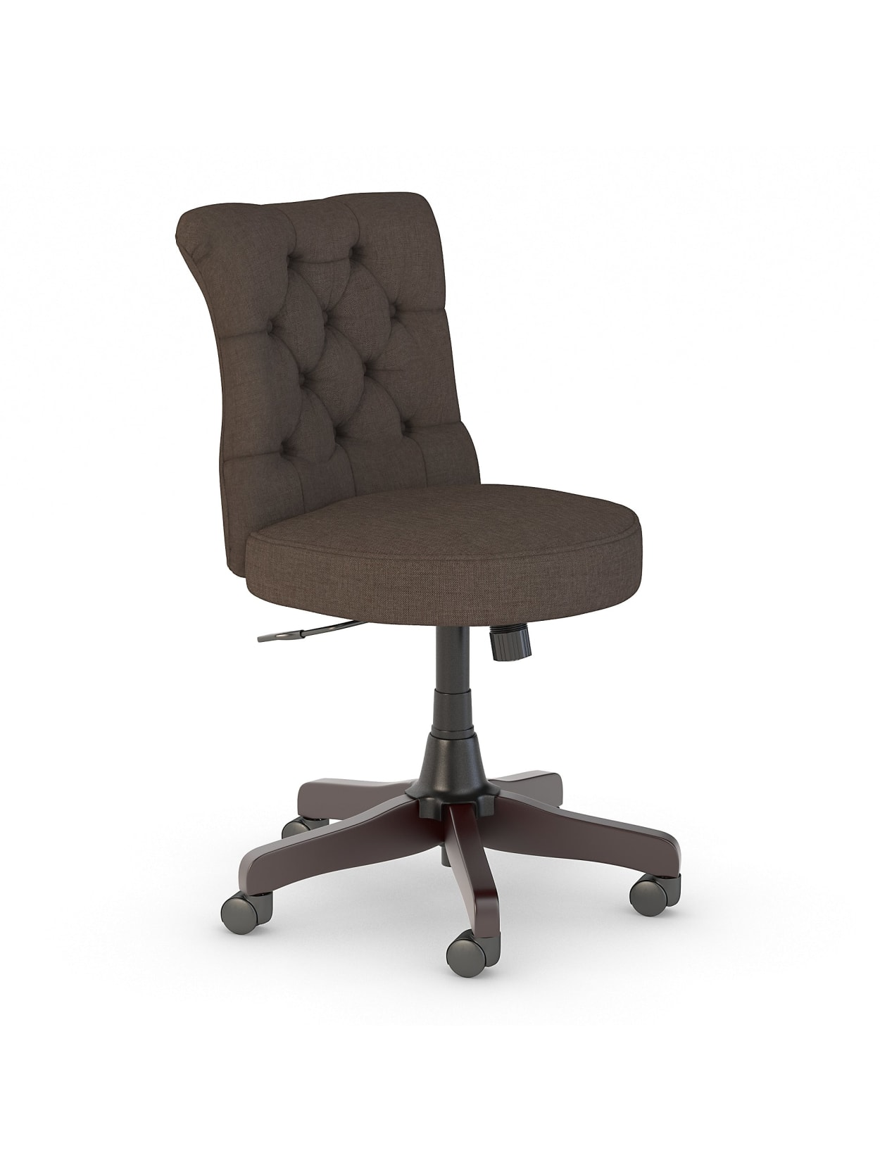 Bush Arden Lane Mid Back Office Chair Brown - Office Depot