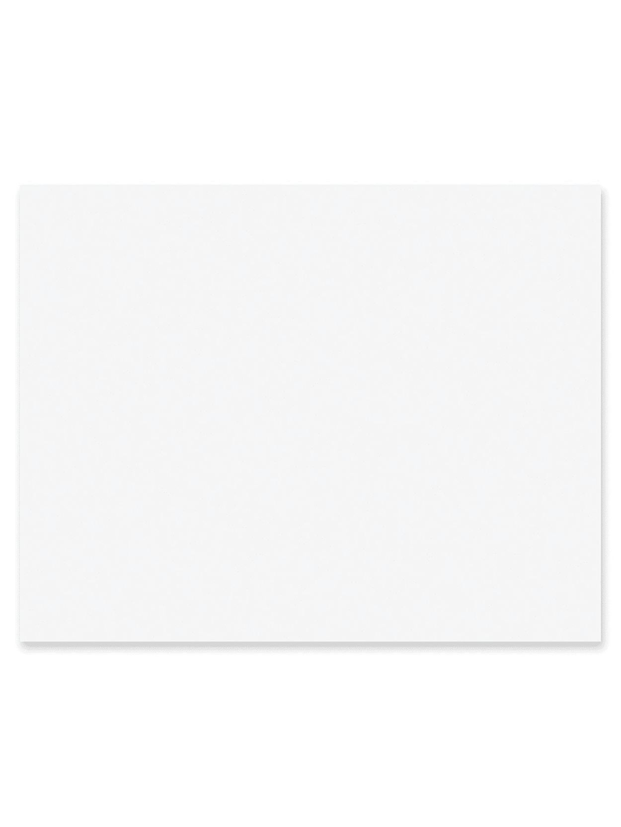 RiteCo 15211 Posterboard//Railroad Board Pack of 25 4-Ply 22 x 28 Light Blue