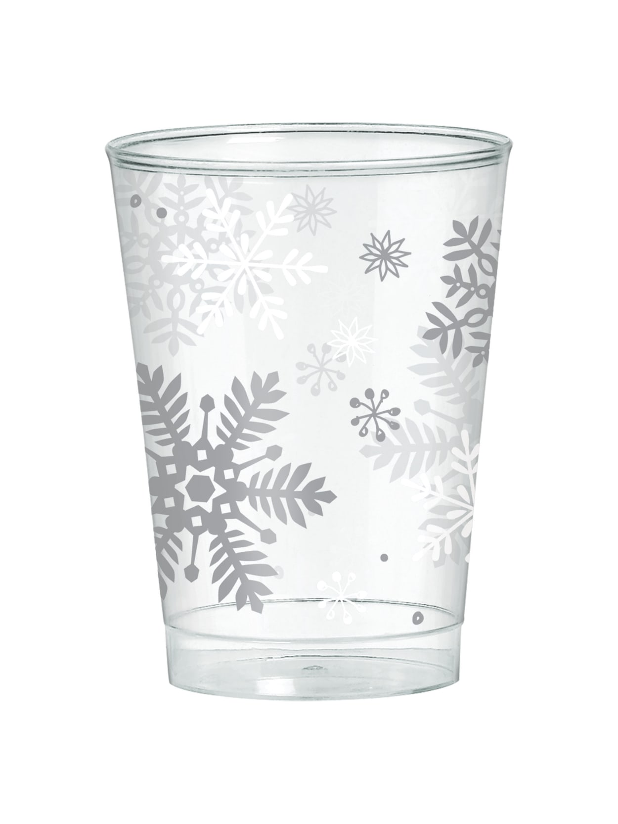 Tumblers Pack of 10 10 Oz Black and Silver