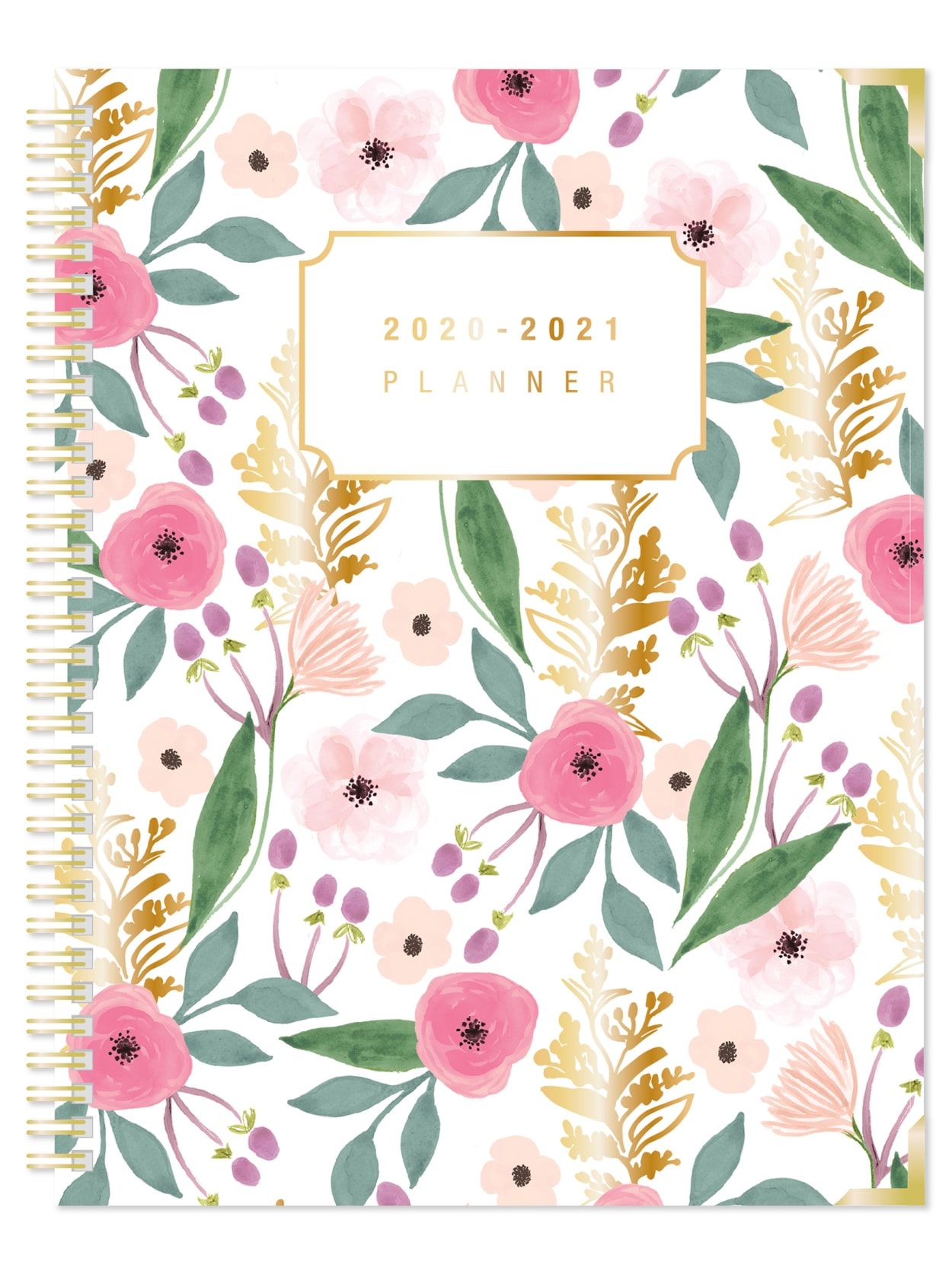 """30/% Recycled 5/"""" x 8/"""" Office Depot Weekly//Monthly Academic Planner Jul Black"""