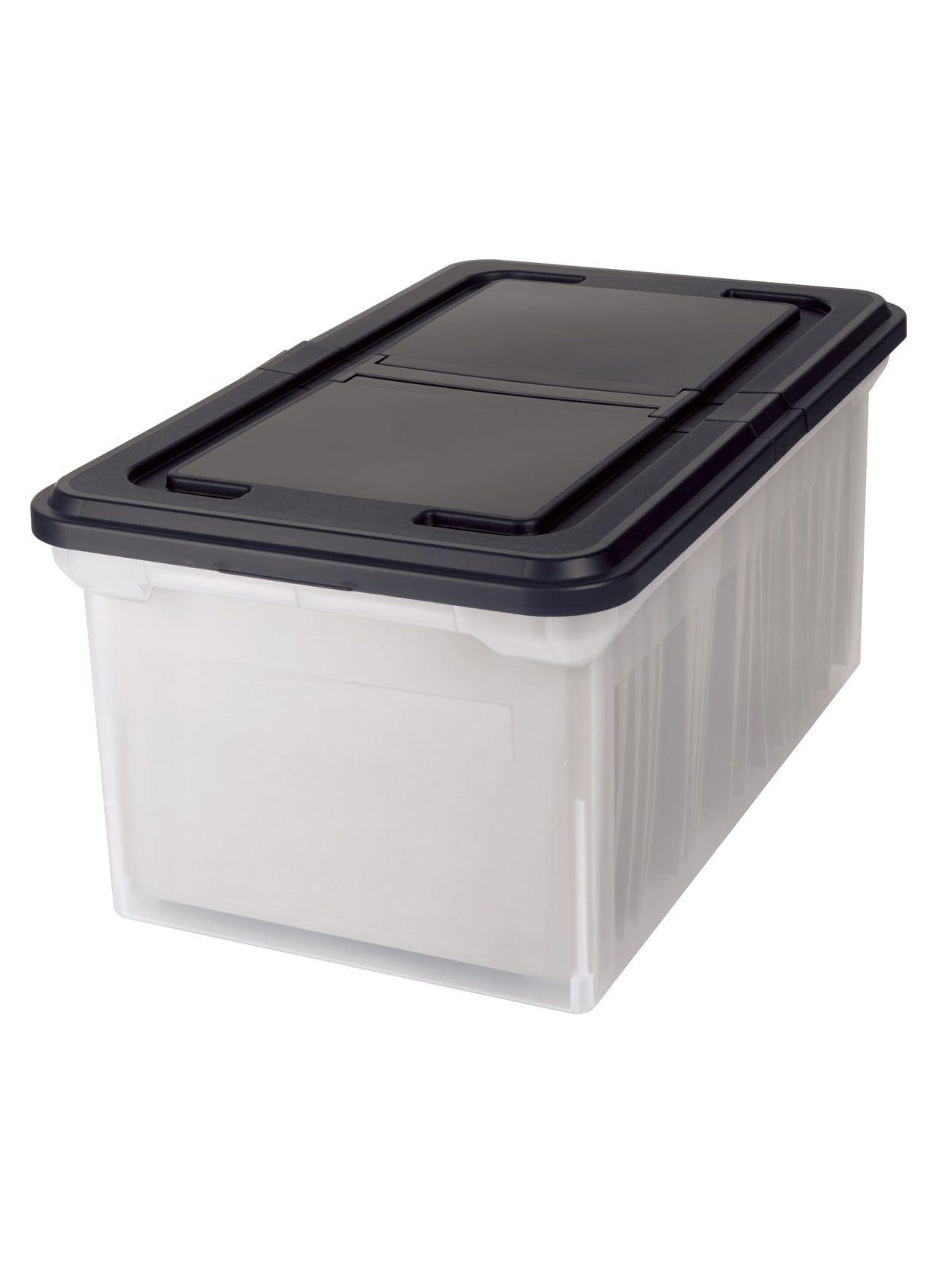 Office Depot Stackable File Tote Box Letter Size 40 740 H x 40 40