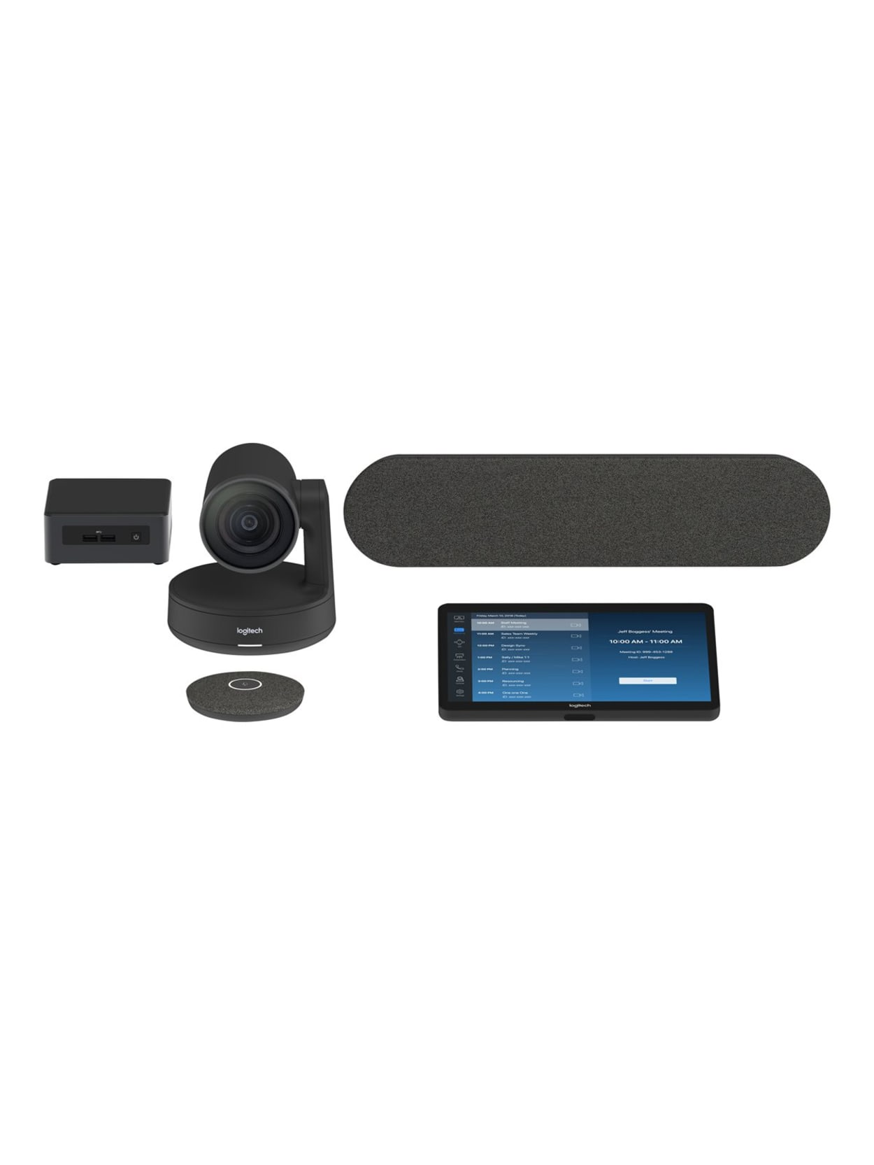 Logitech Video Conference Equipment 3840 X 2160 Video Live 4k Uhd