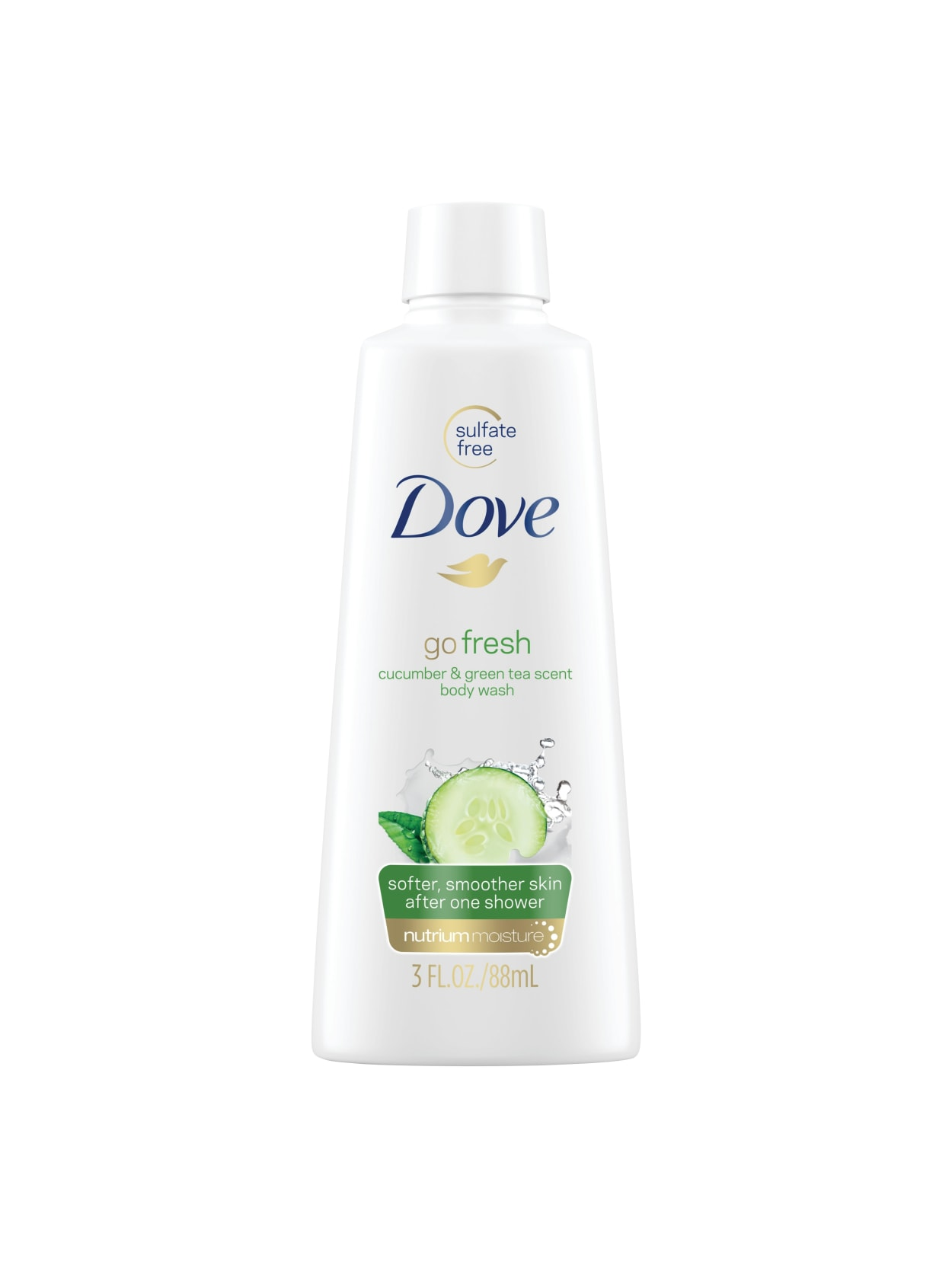 Dove Body Wash Cucumber Scent 3 Oz Office Depot