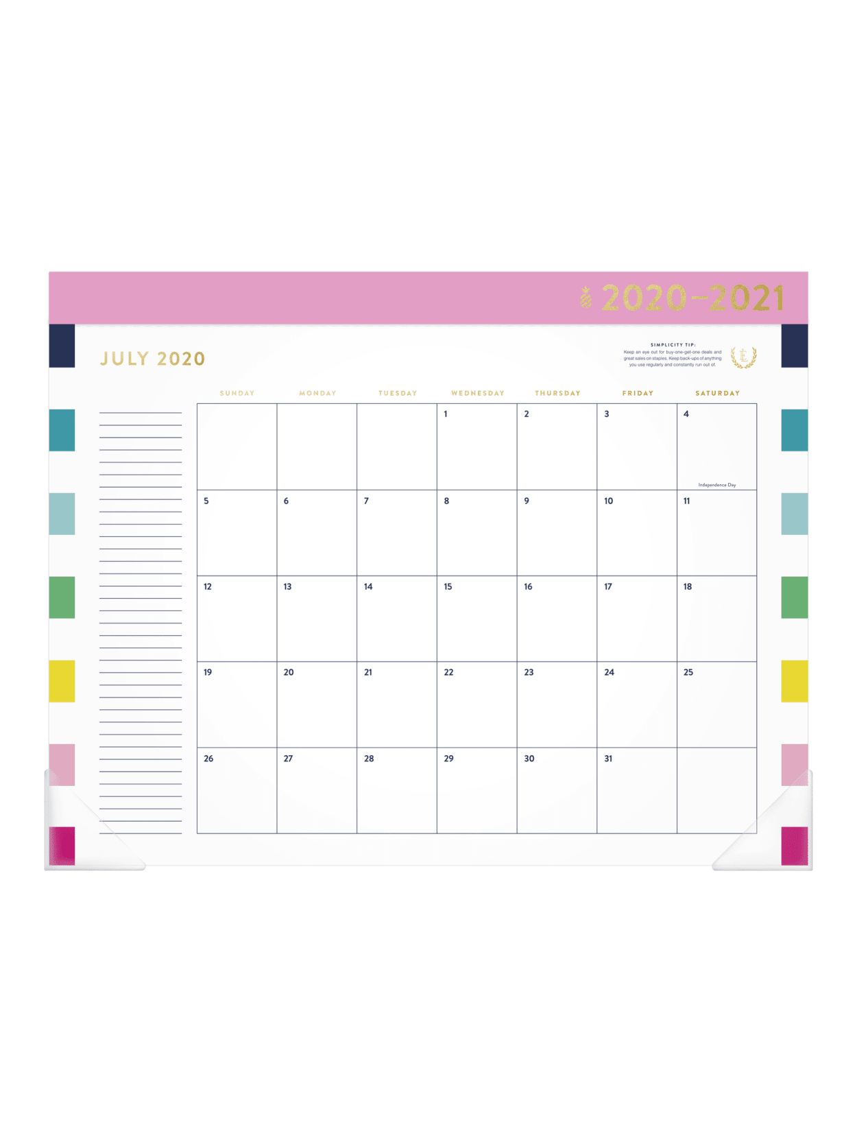 Emily Ley Simplified Calendar El400 704a 21 Office Depot