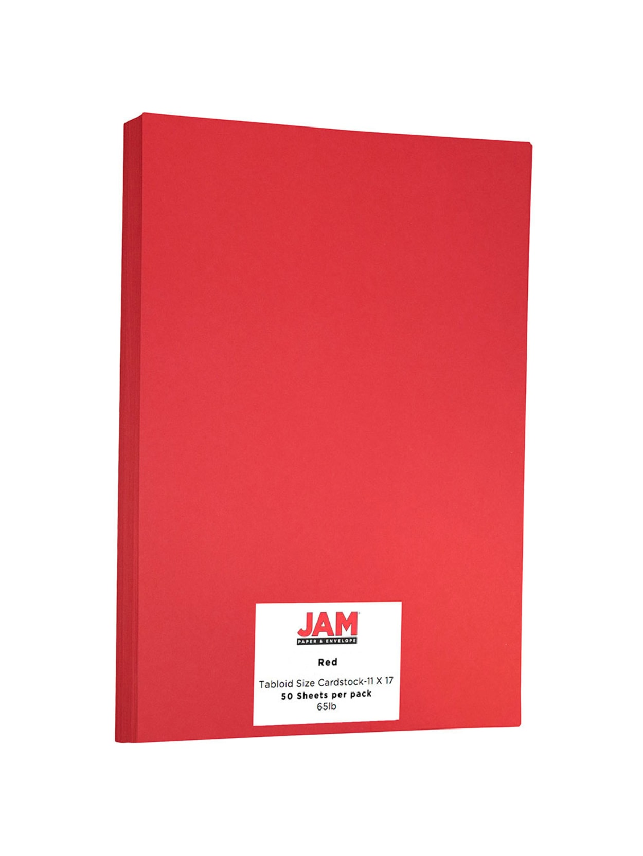Jam Paper Cover Card Stock 11 X 17 65 Lb 30percent Recycled Re Entry Red Pack Of 50 Sheets Office Depot