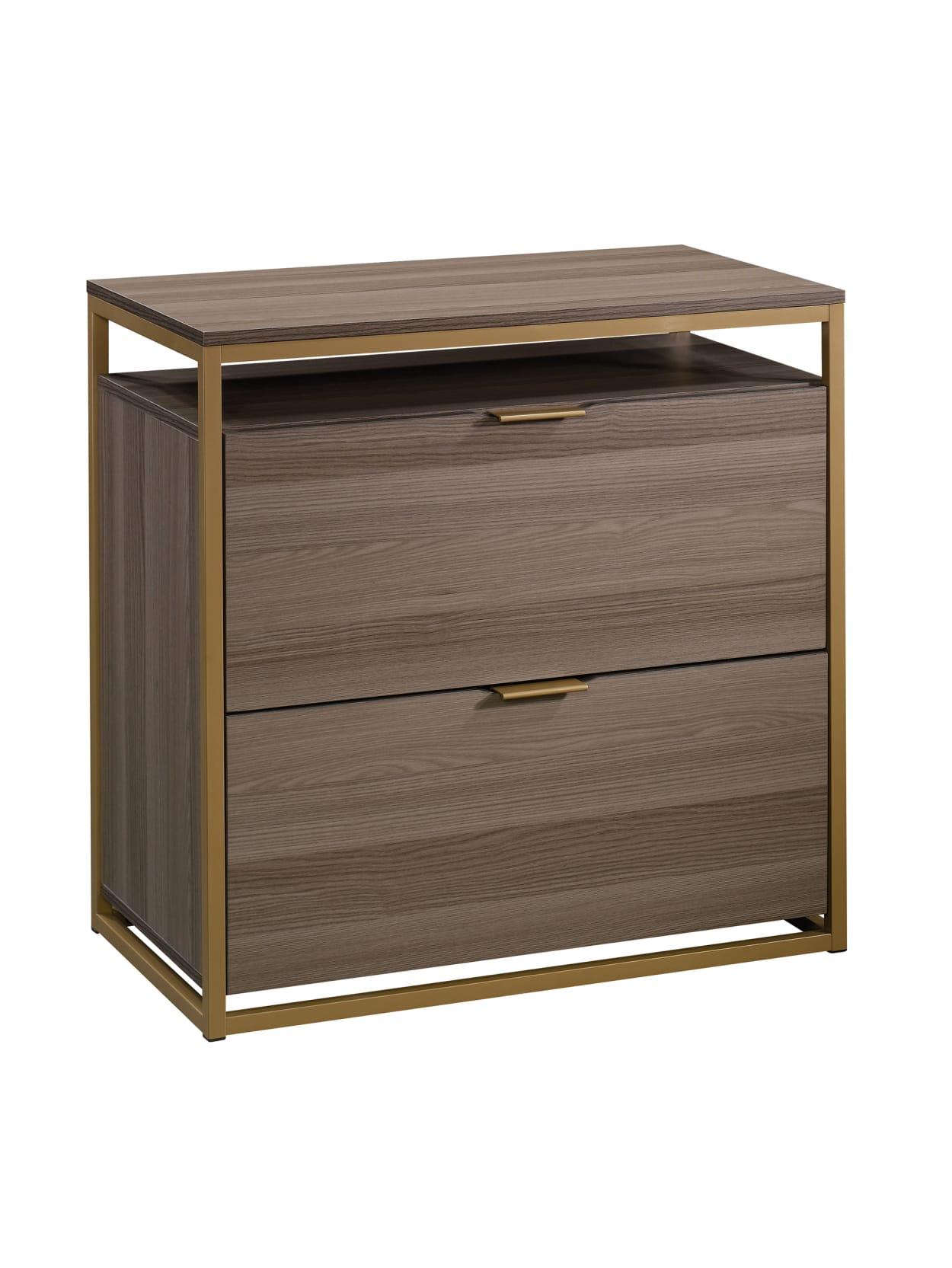 Sauder International Lux 34 34 W Lateral 34 Drawer File Cabinet