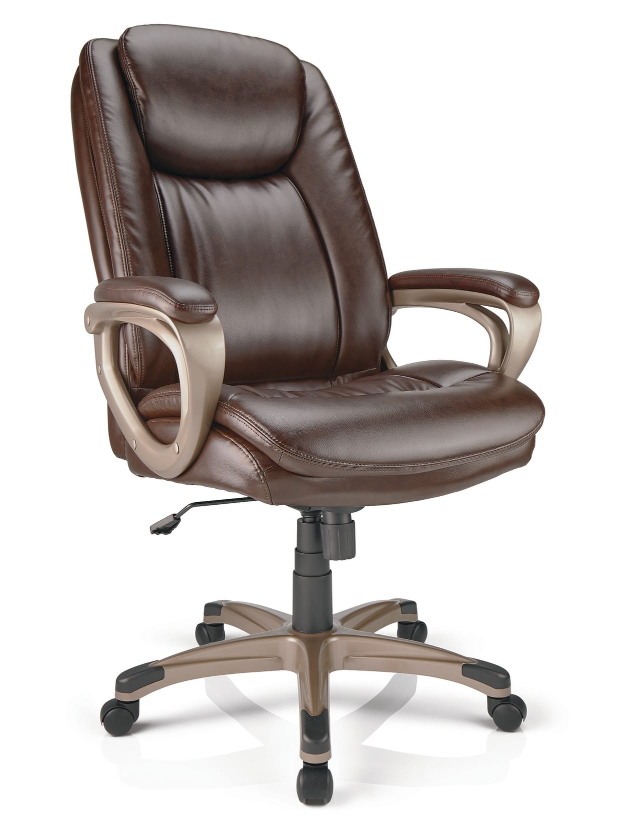 Realspace Tresswell Chair Brownchampagne Office Depot