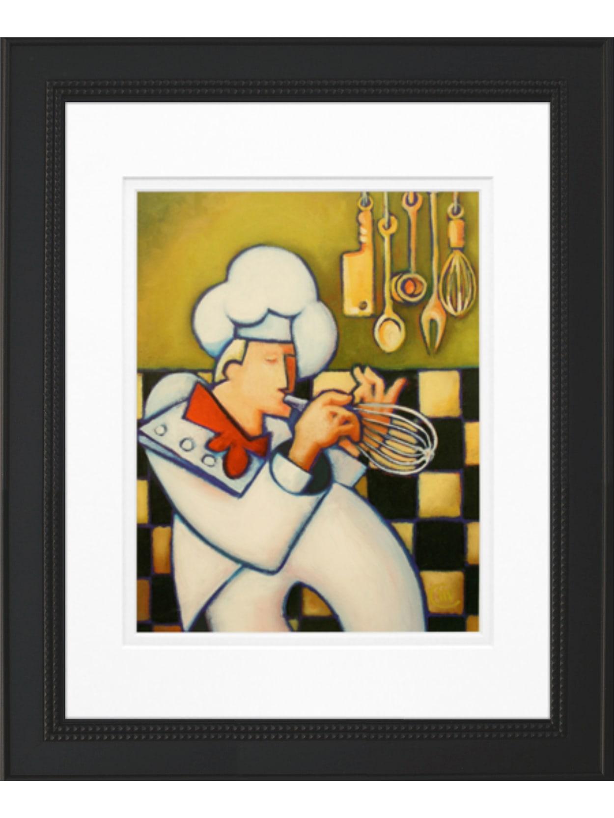 Timeless Frames Art 11x14 Whimsical Chef Ii Office Depot