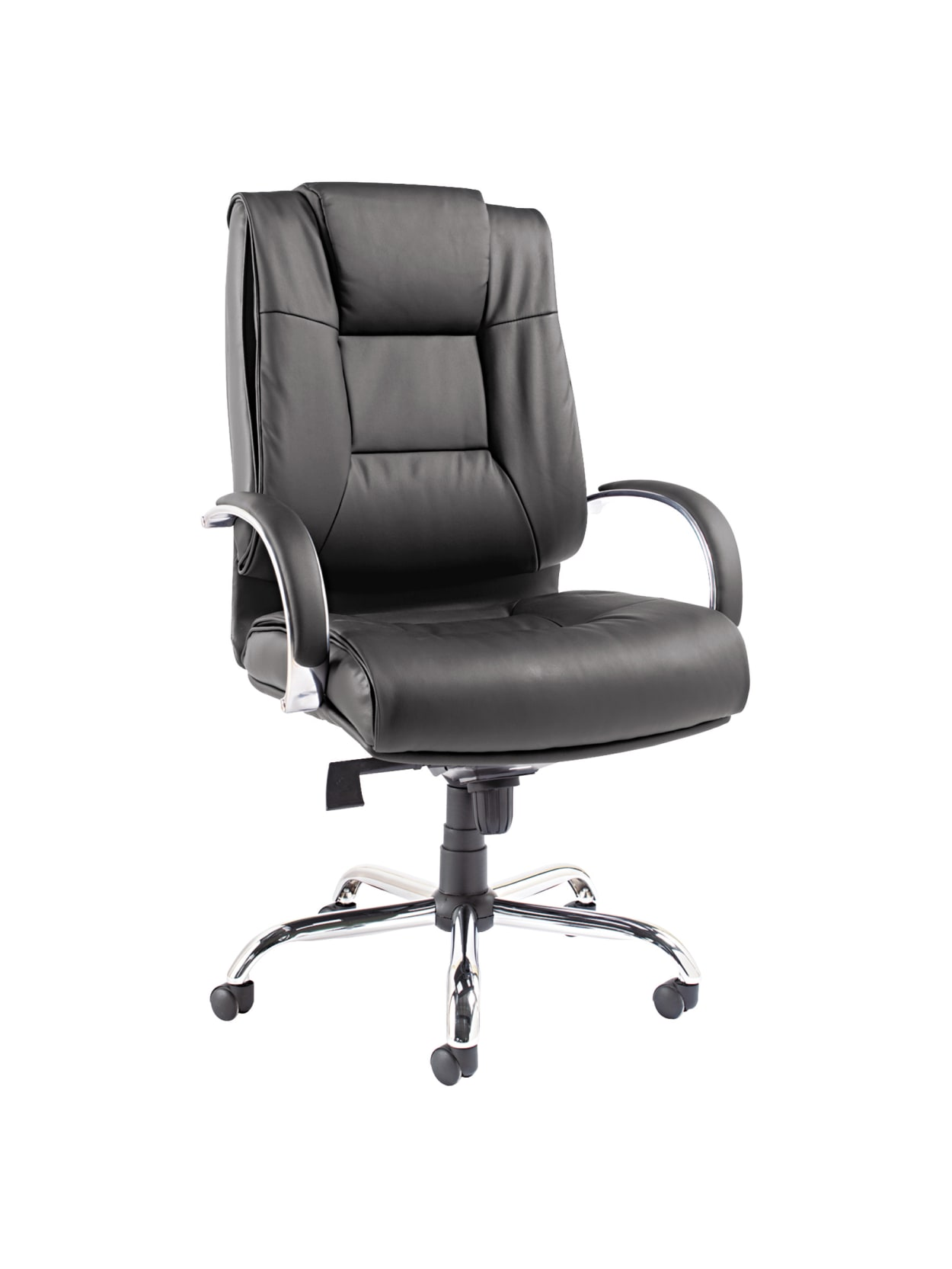 Alera Ravino Vl685 Big And Tall High Back Swiveltilt Bonded Leather Chair Black Office Depot