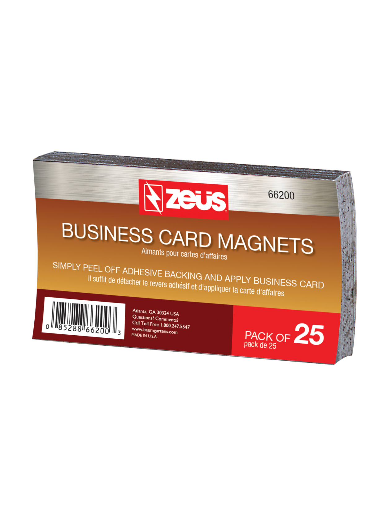 Baumgartens Business Card Magnets 2 X 3